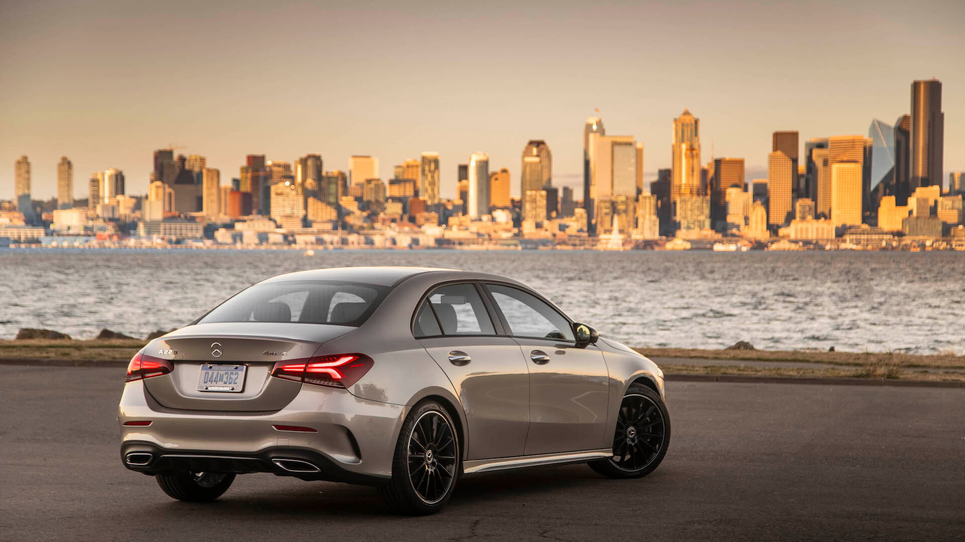2019 Mercedes-Benz A-Class, Seattle media drive, September, 2018