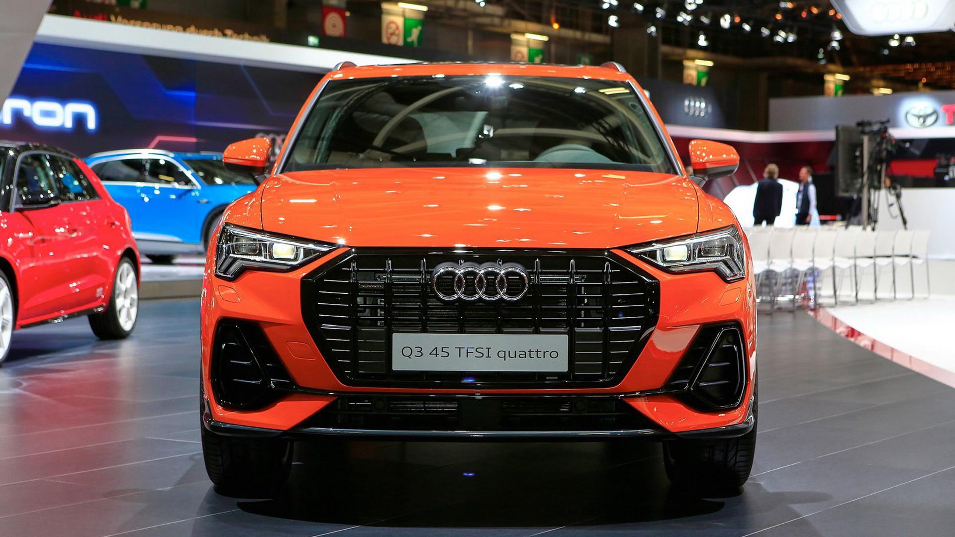 2019 Audi Q3, 2018 Paris auto show