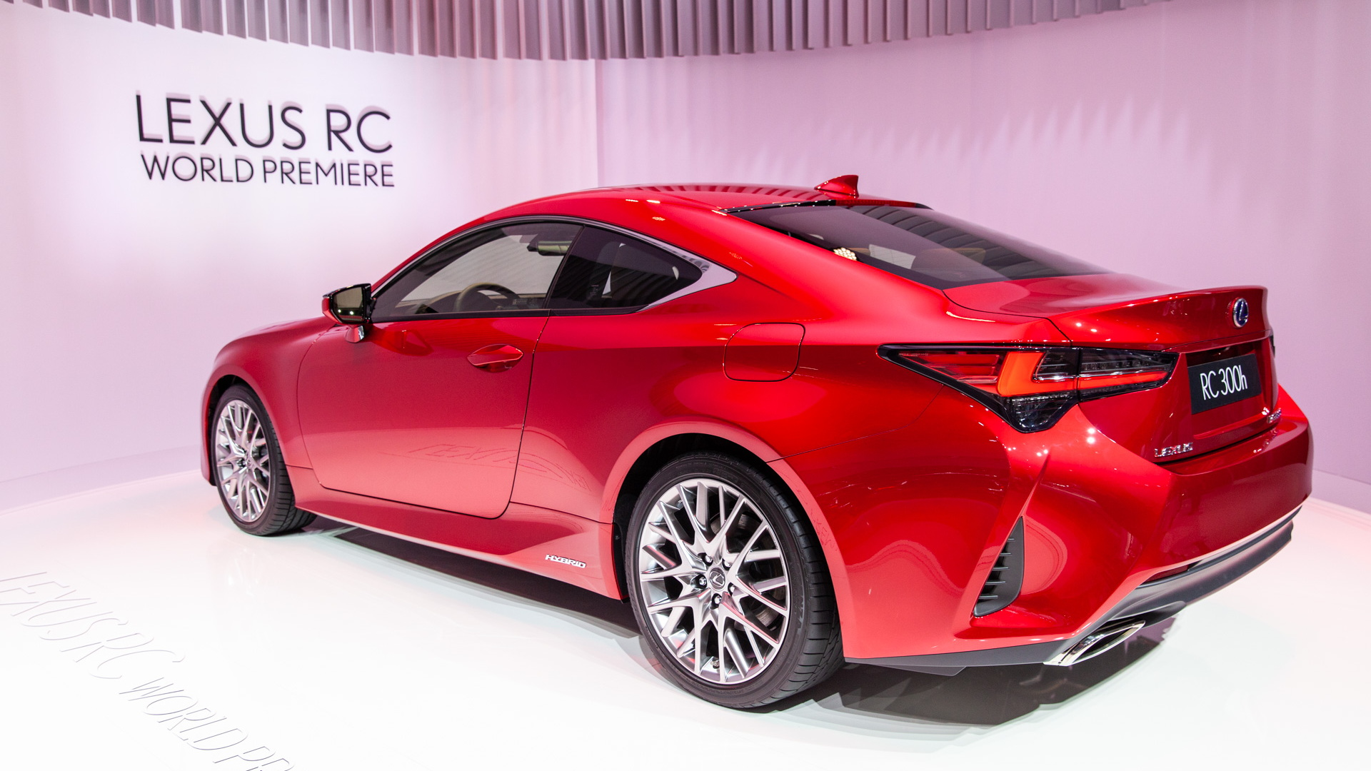 2019 Lexus RC, 2018 Paris auto show