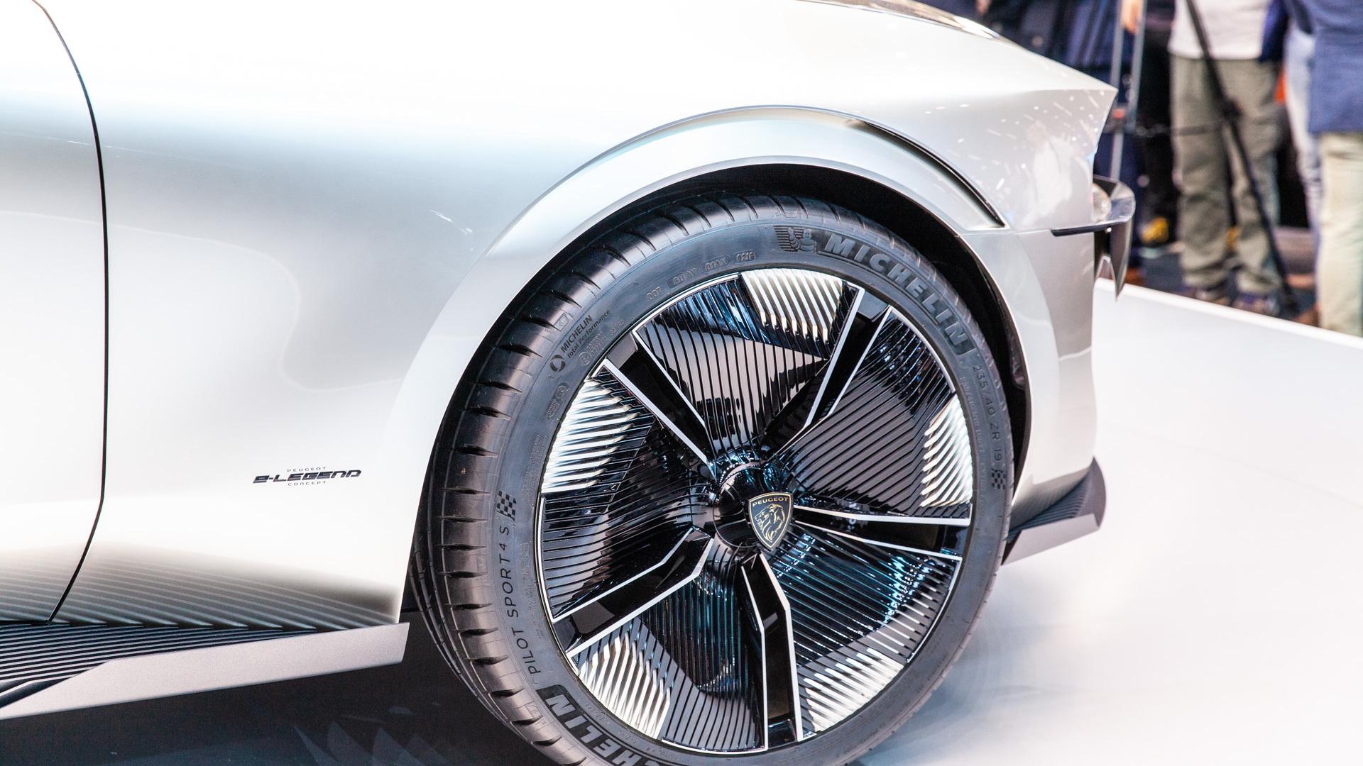 Peugeot E-Legend Concept, 2018 Paris auto show