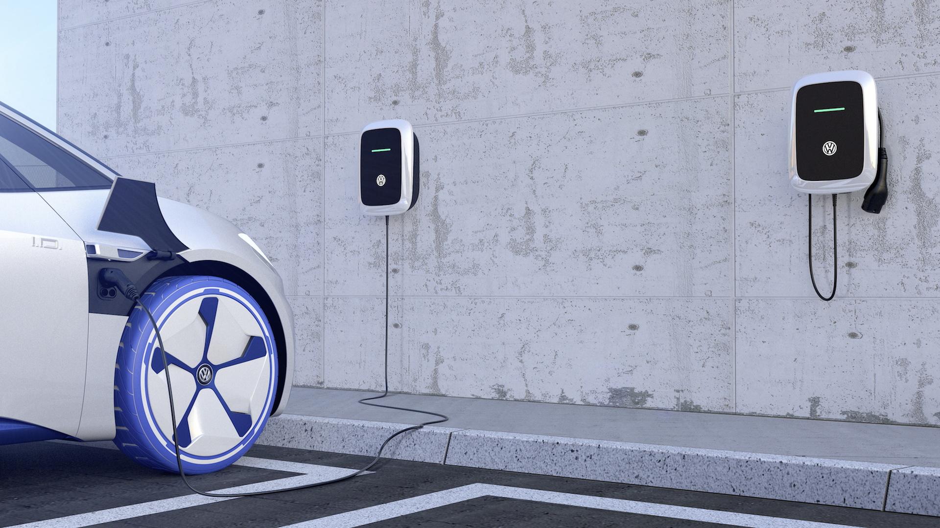 Volkswagen ID charging