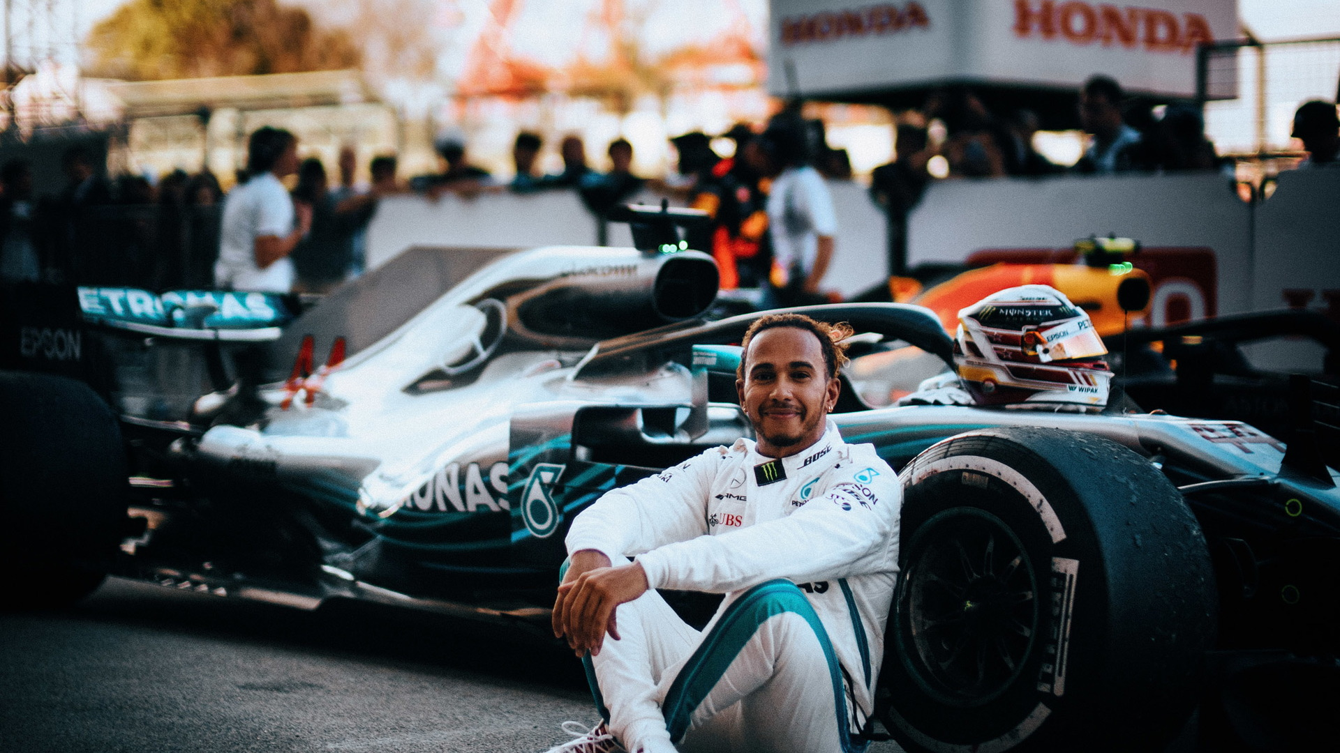 Mercedes-AMG's Lewis Hamilton at the 2018 Formula 1 Japanese Grand Prix
