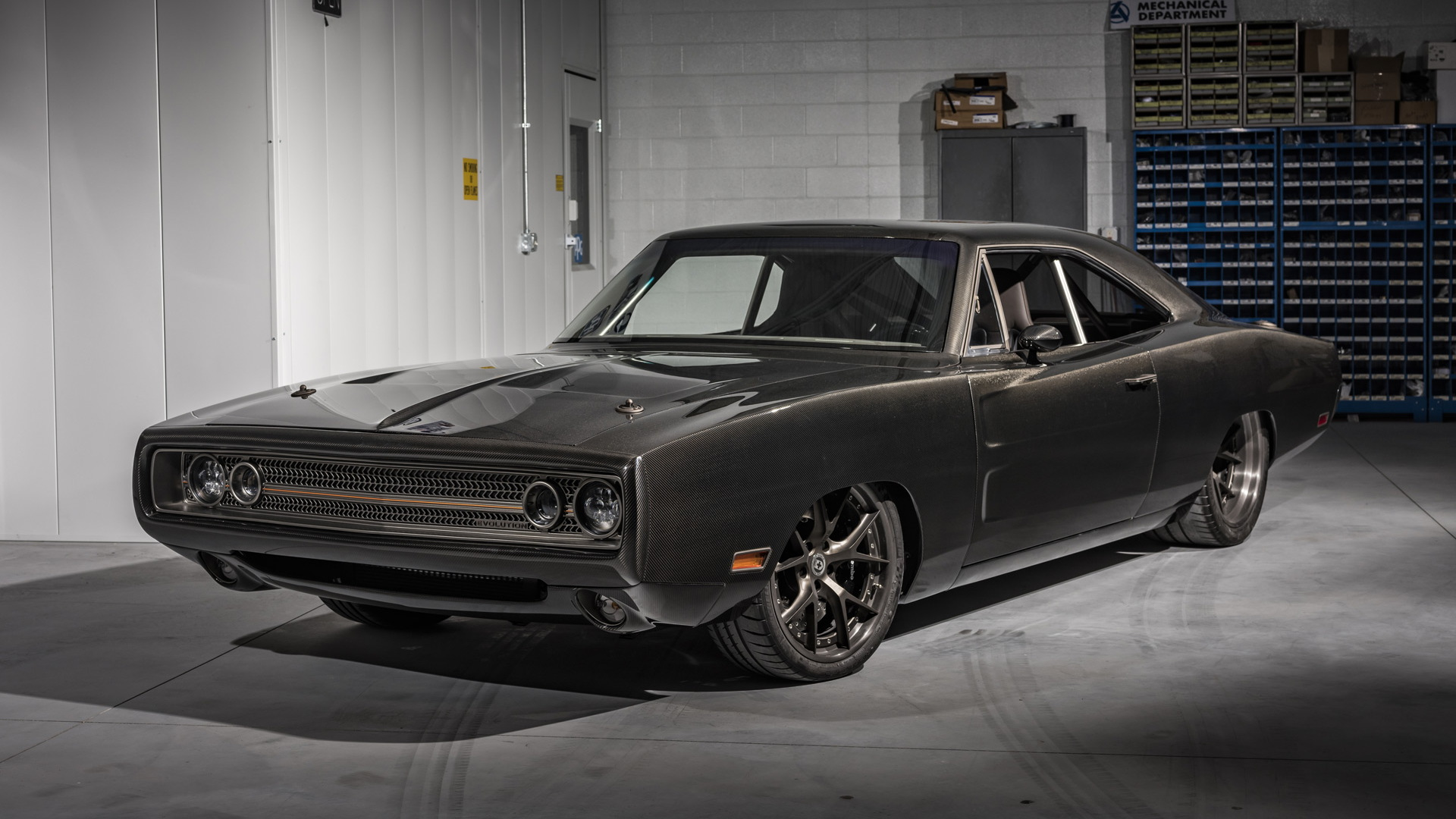 Demon-powered, carbon fiber-bodied 1970 Dodge Charger