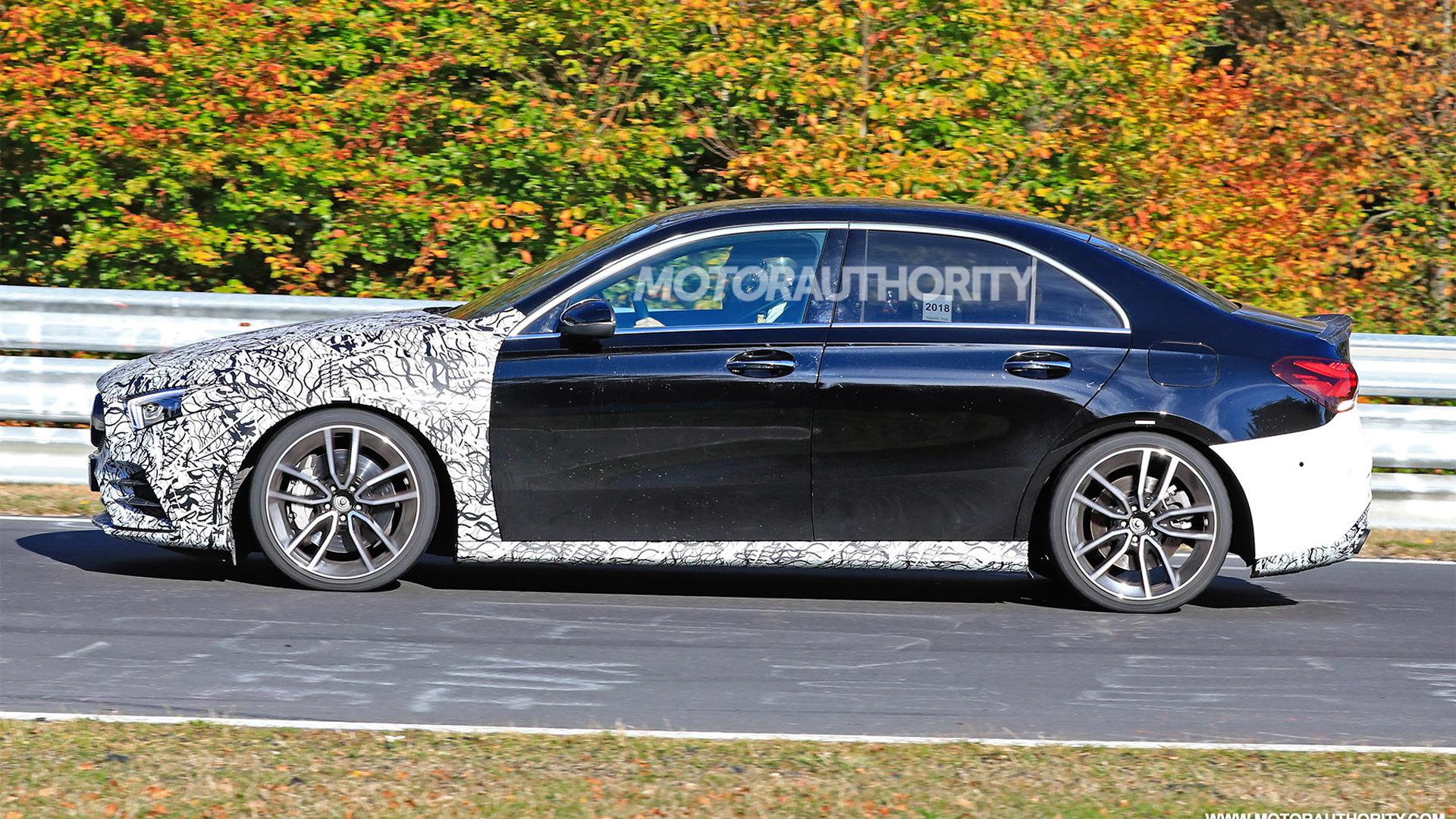 2019 Mercedes-AMG A35 spy shots - Image via S. Baldauf/SB-Medien