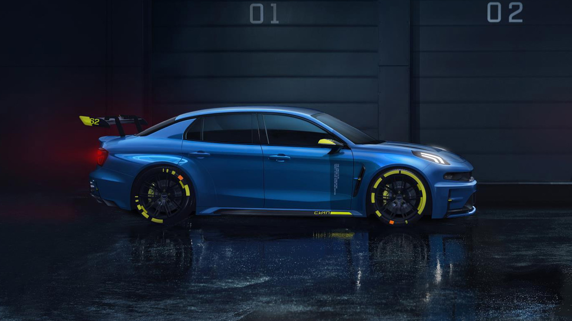 Lynk & Co. 03 Cyan concept