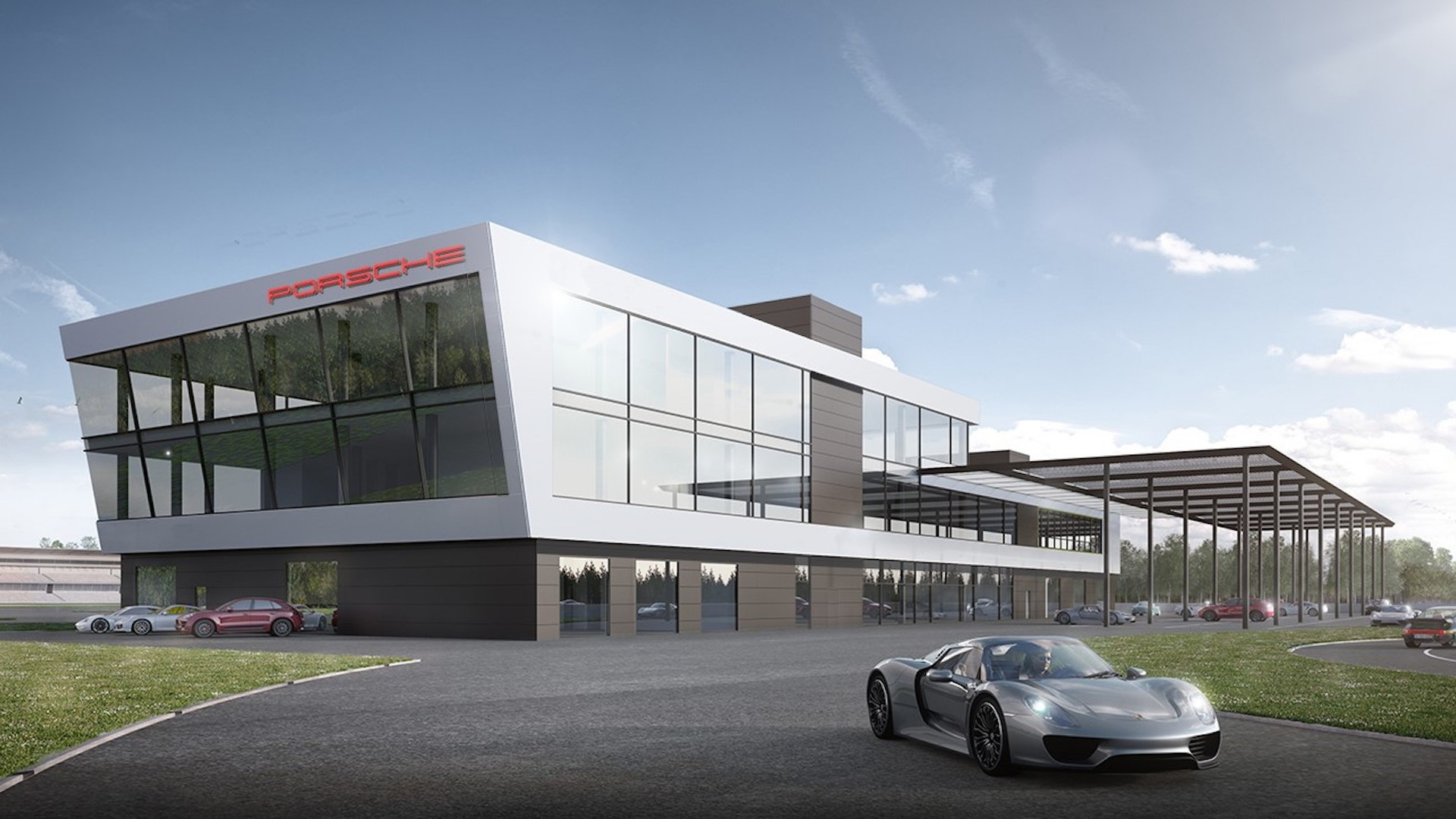 Porsche Hockenheimring experience center