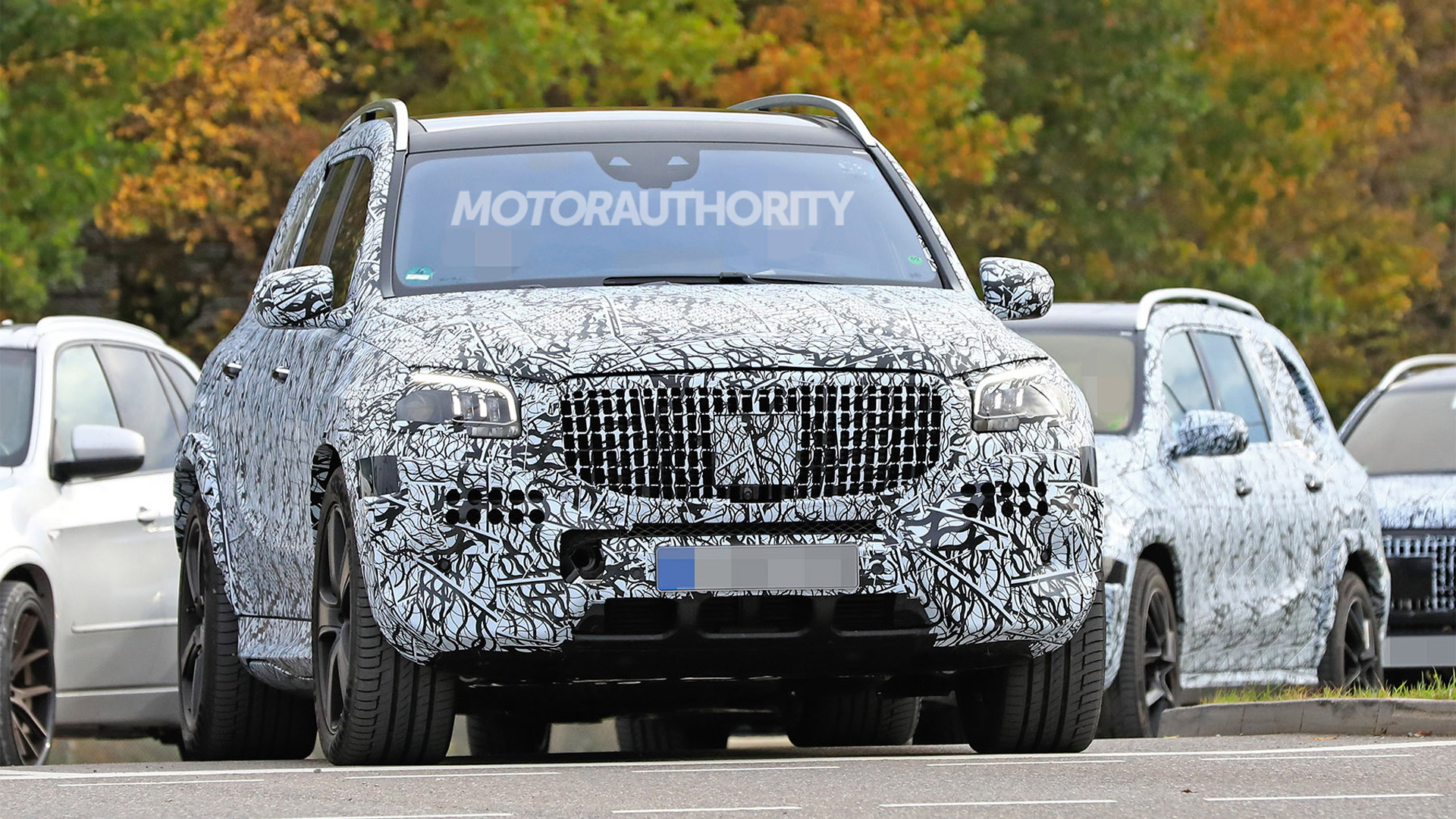 2021 Mercedes-Maybach GLS spy shots - Image via S. Baldauf/SB-Medien