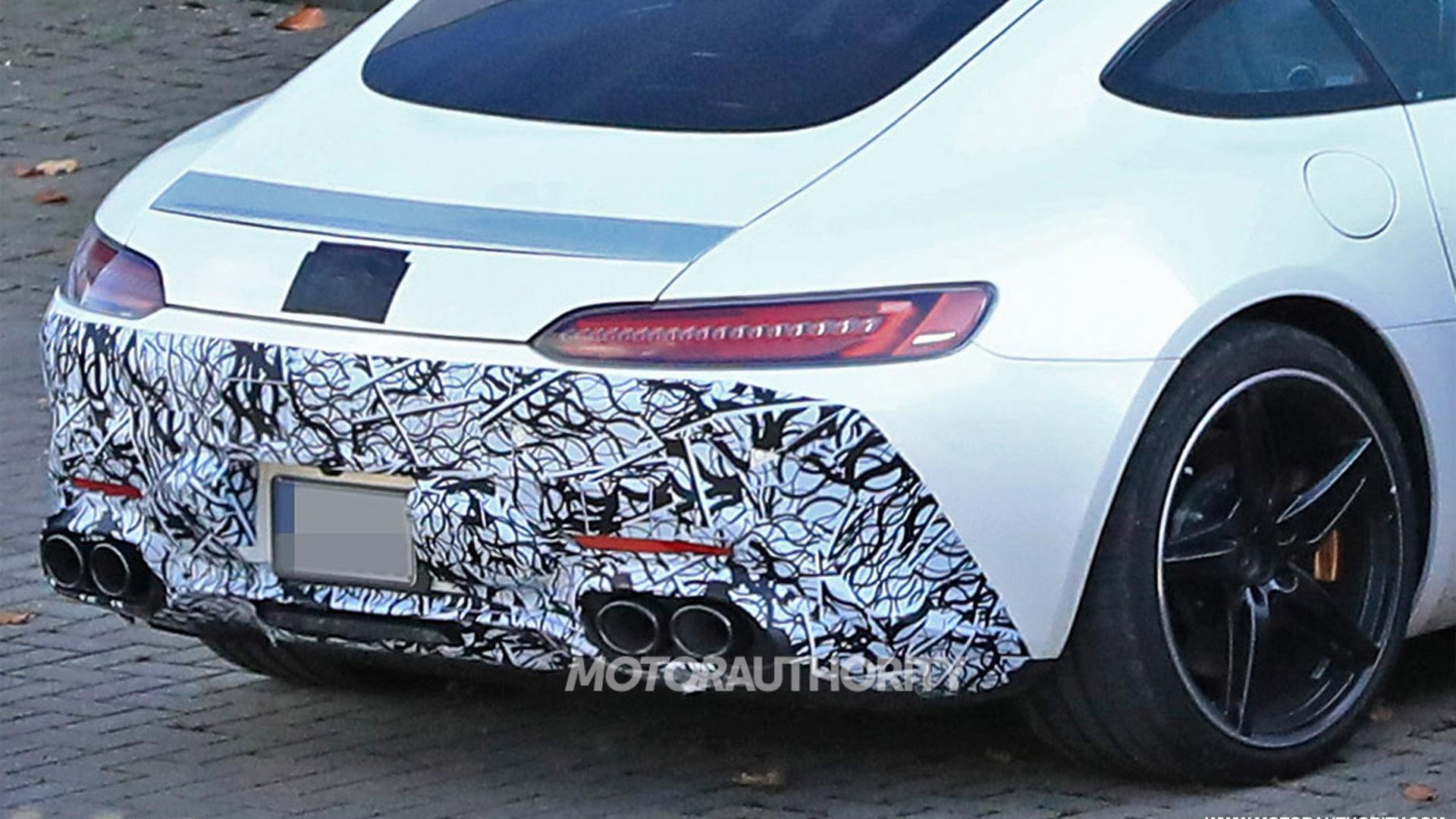 Potential six-cylinder Mercedes-AMG GT spy shots - S. Baldauf/SB-Medien