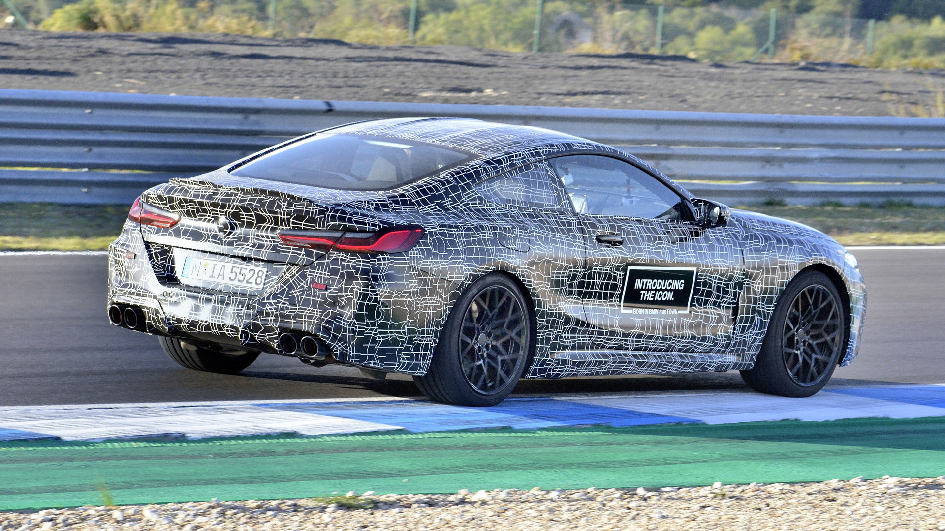 2020 BMW M8 prototype