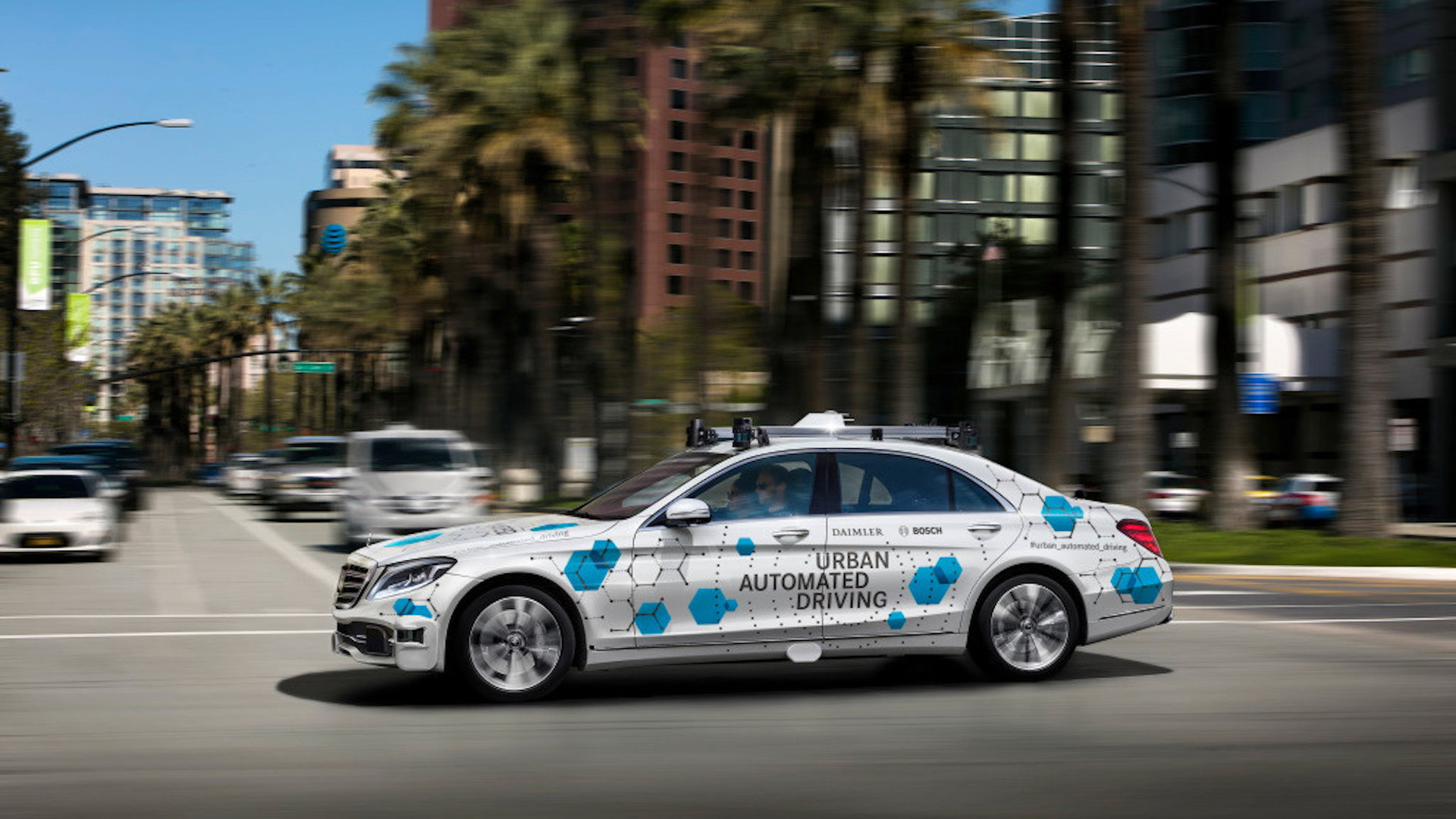 Self-driving Mercedes-Benz S-Class prototype
