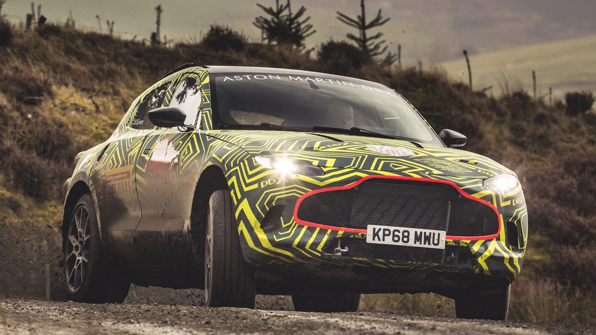 2020 Aston Martin DBX prototype