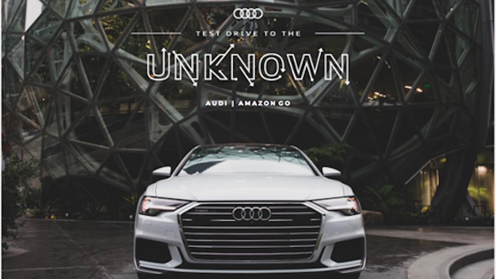 2019 Audi A6 Amazon Go test drives