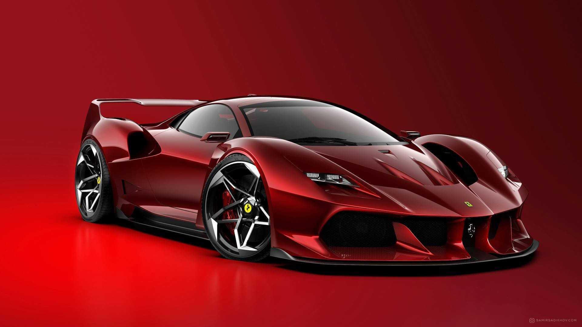 Designer Samir Sadikhov envisions a modern Ferrari F40