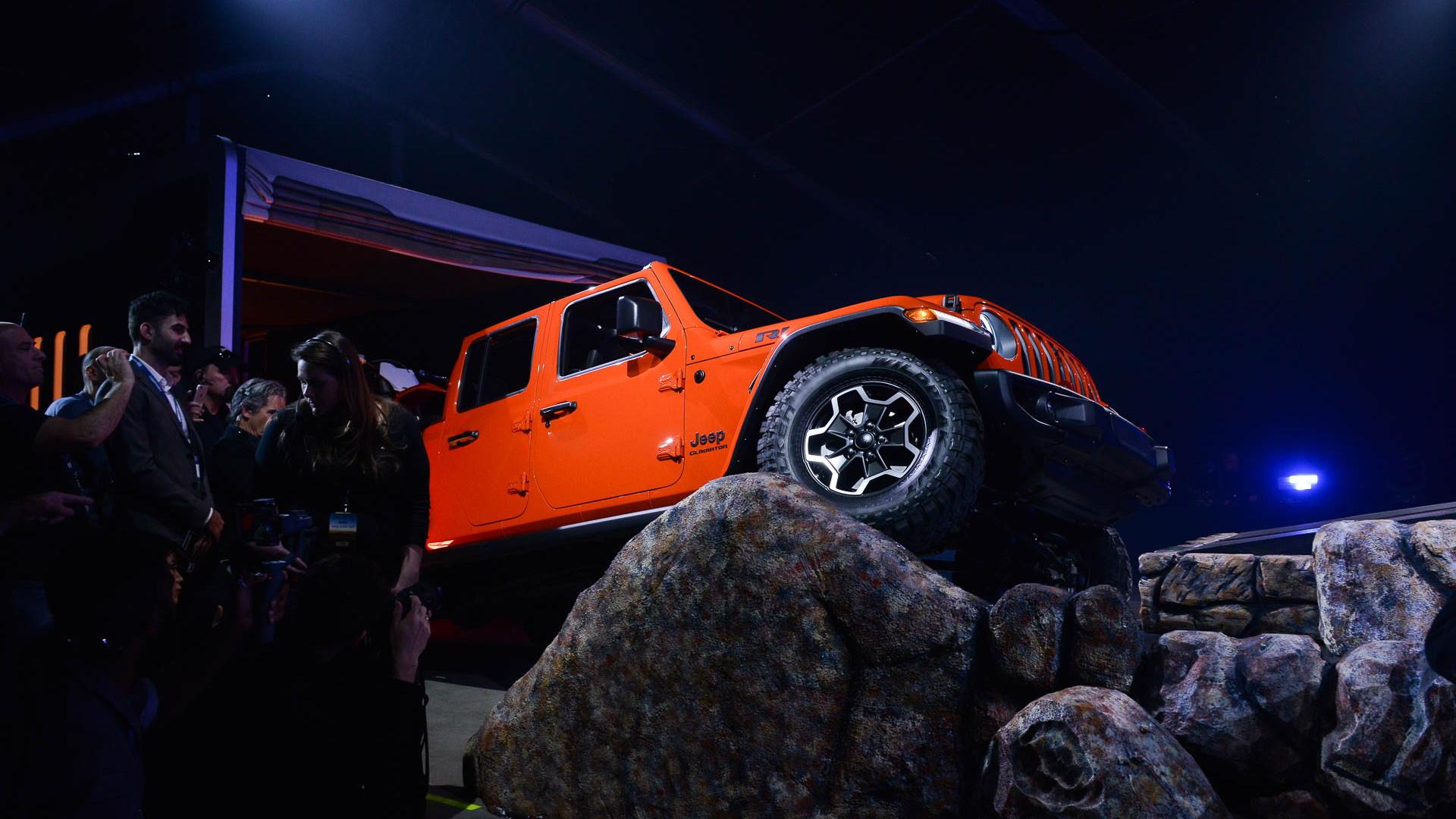 2020 Jeep Gladiator, 2018 LA Auto Show