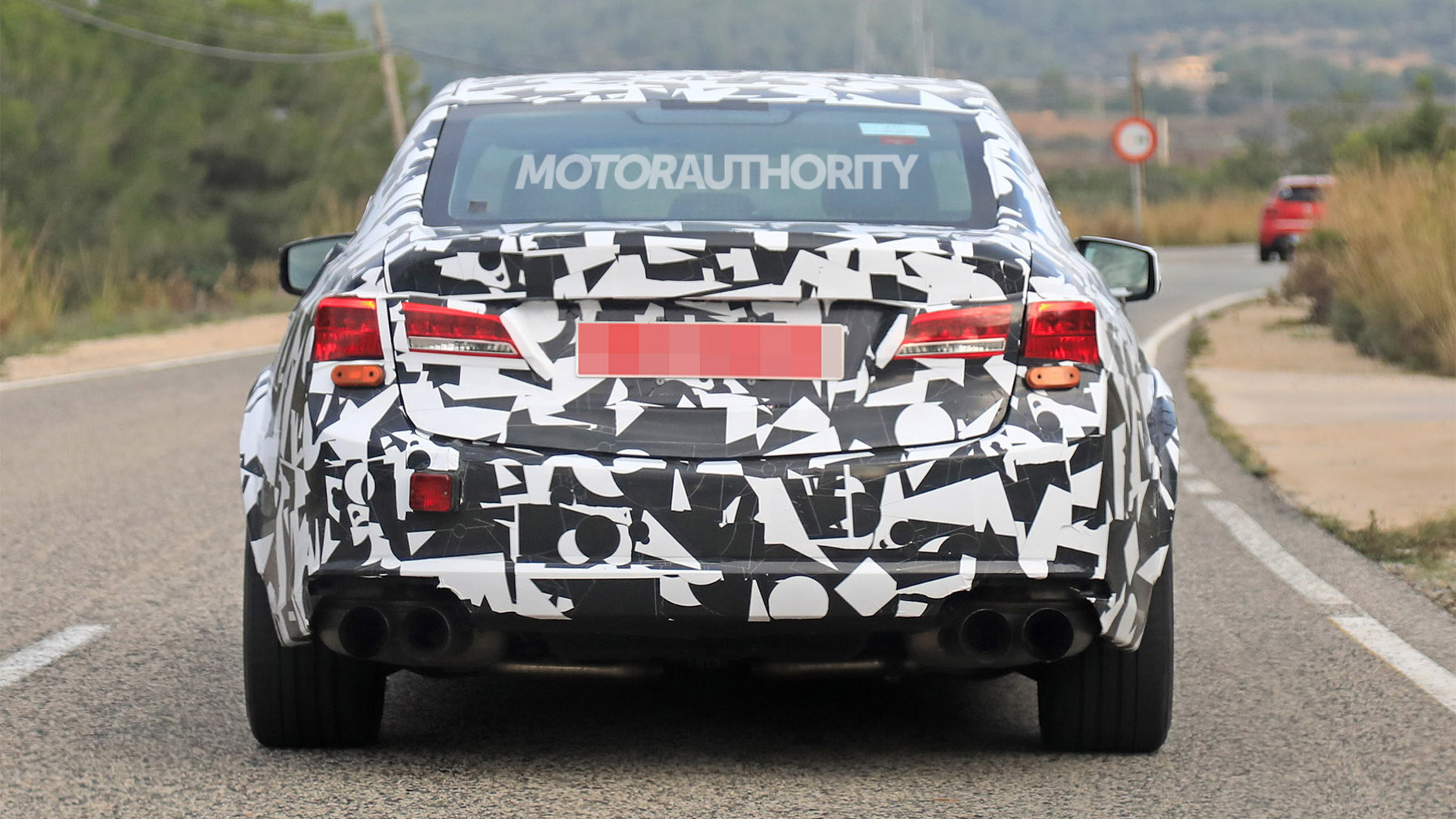 2021 Acura Tlx Type S Spy Shots