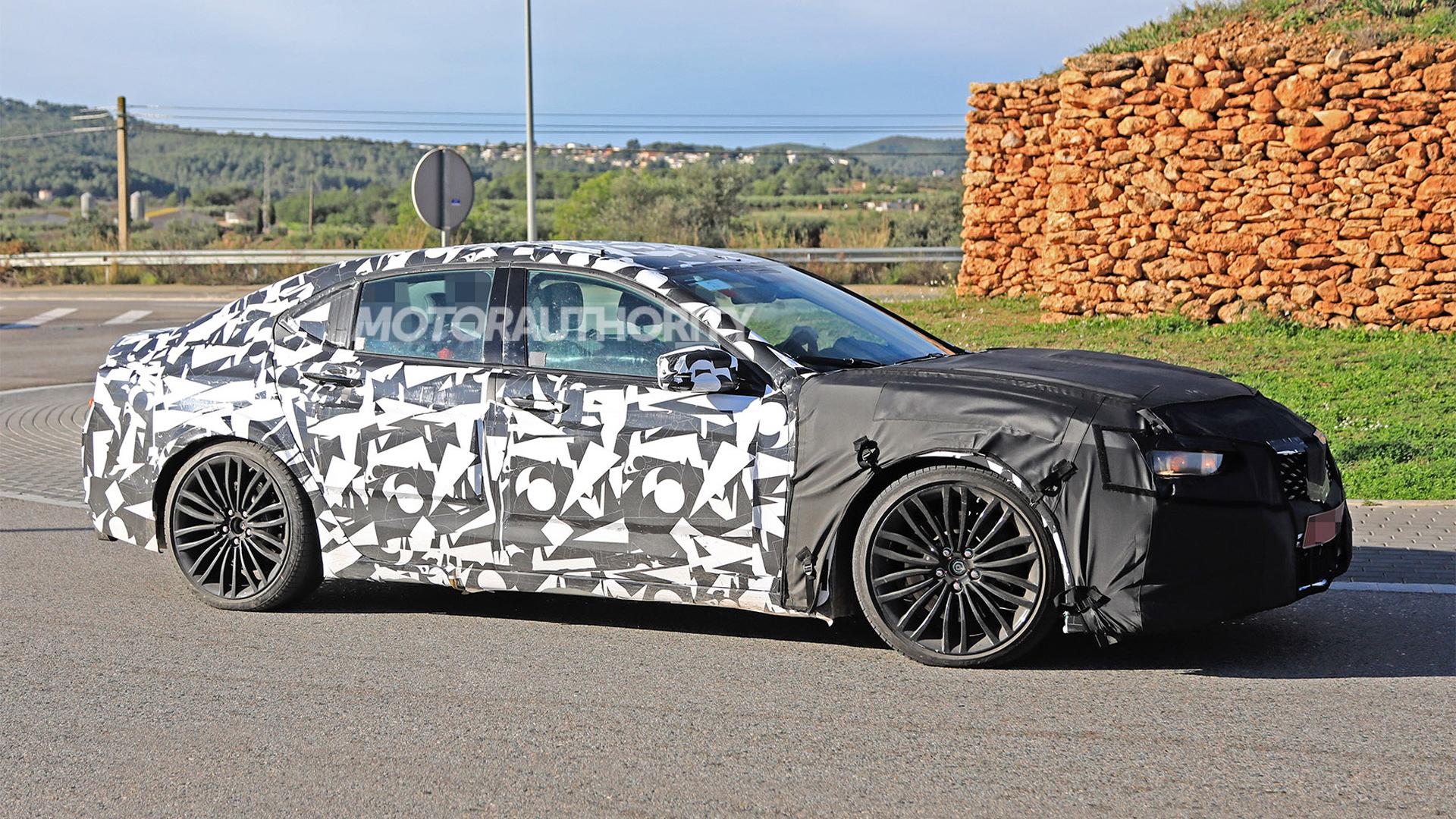 2020 Acura Tlx Type S Spy Shots