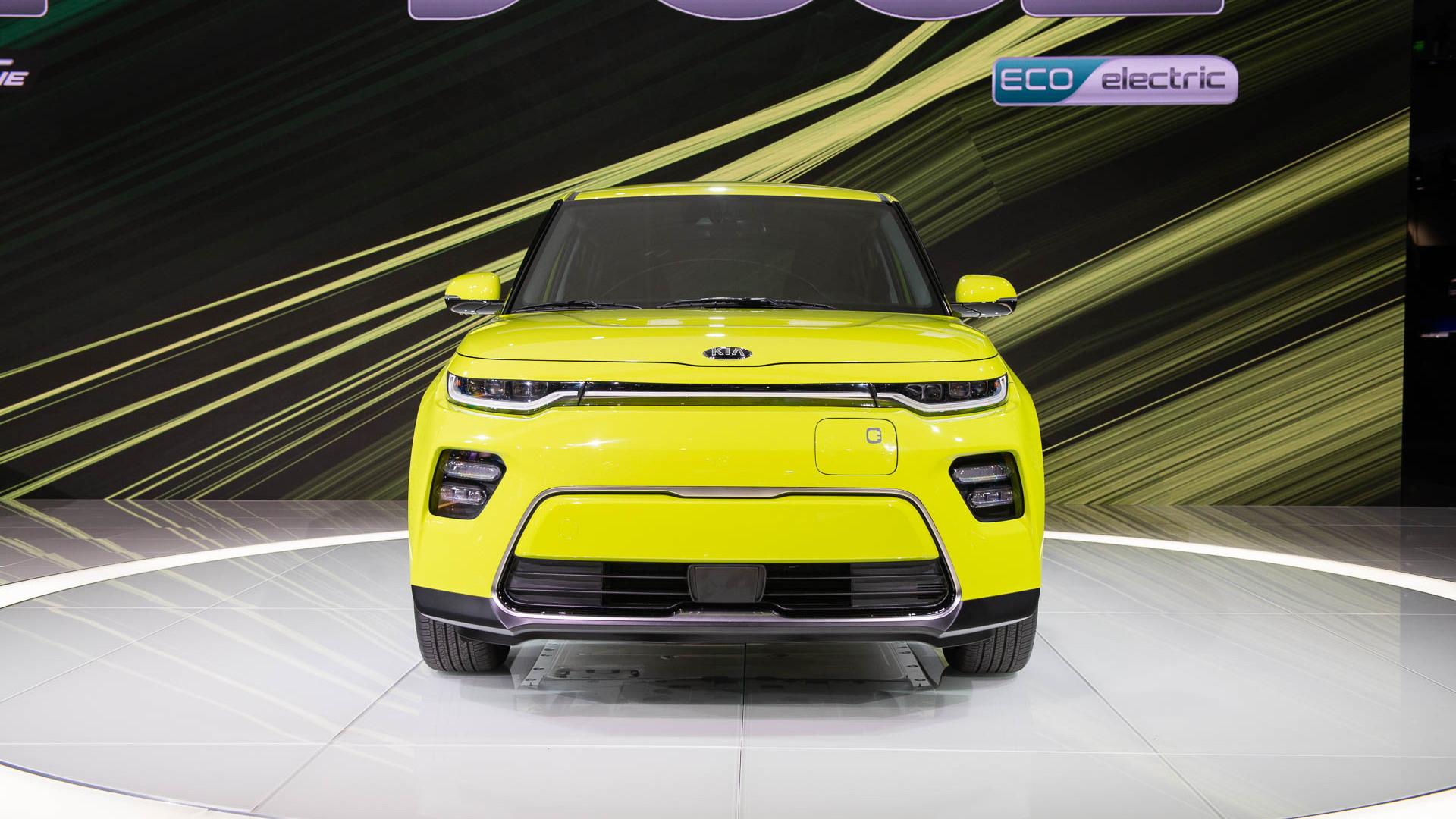 2020 Kia Soul EV, 2018 LA Auto Show