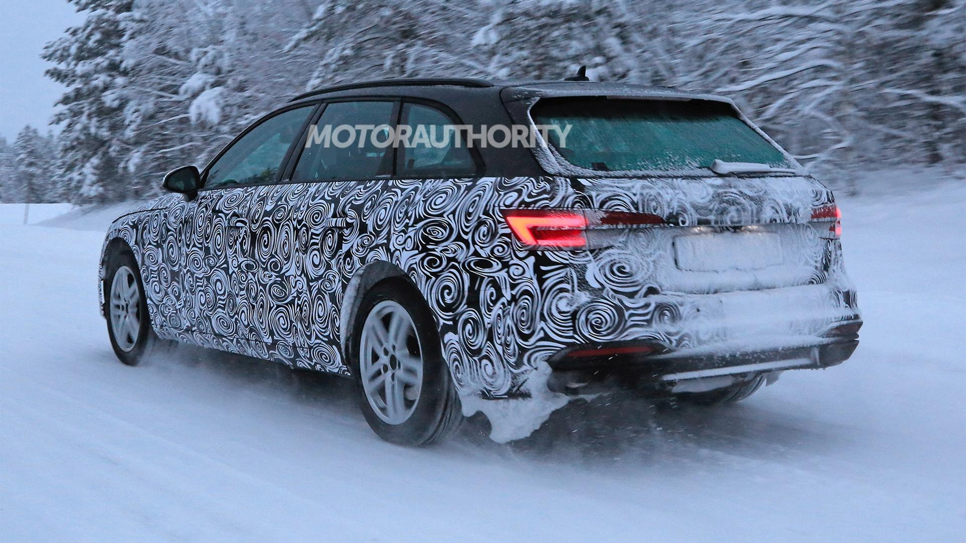 2021 Audi A4 Avant Spy Shots