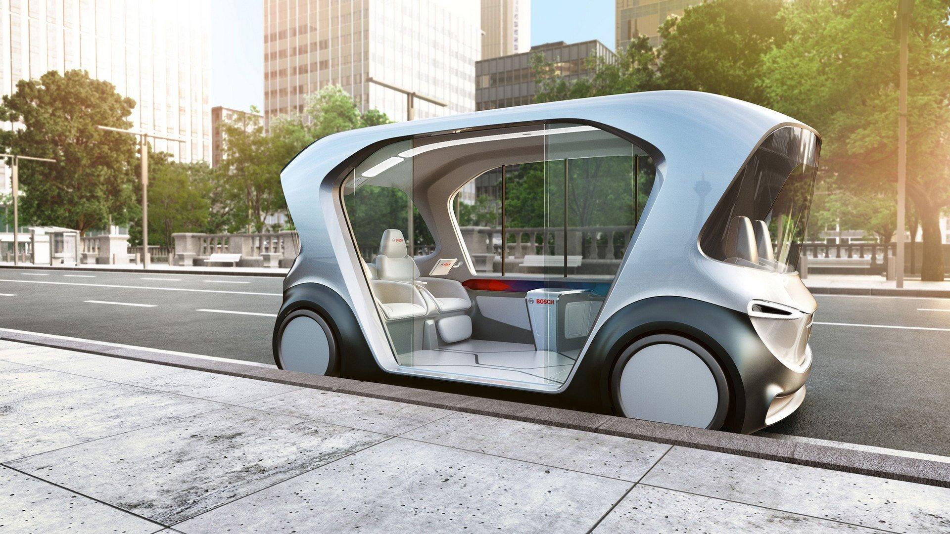Bosch self-driving shuttle concept