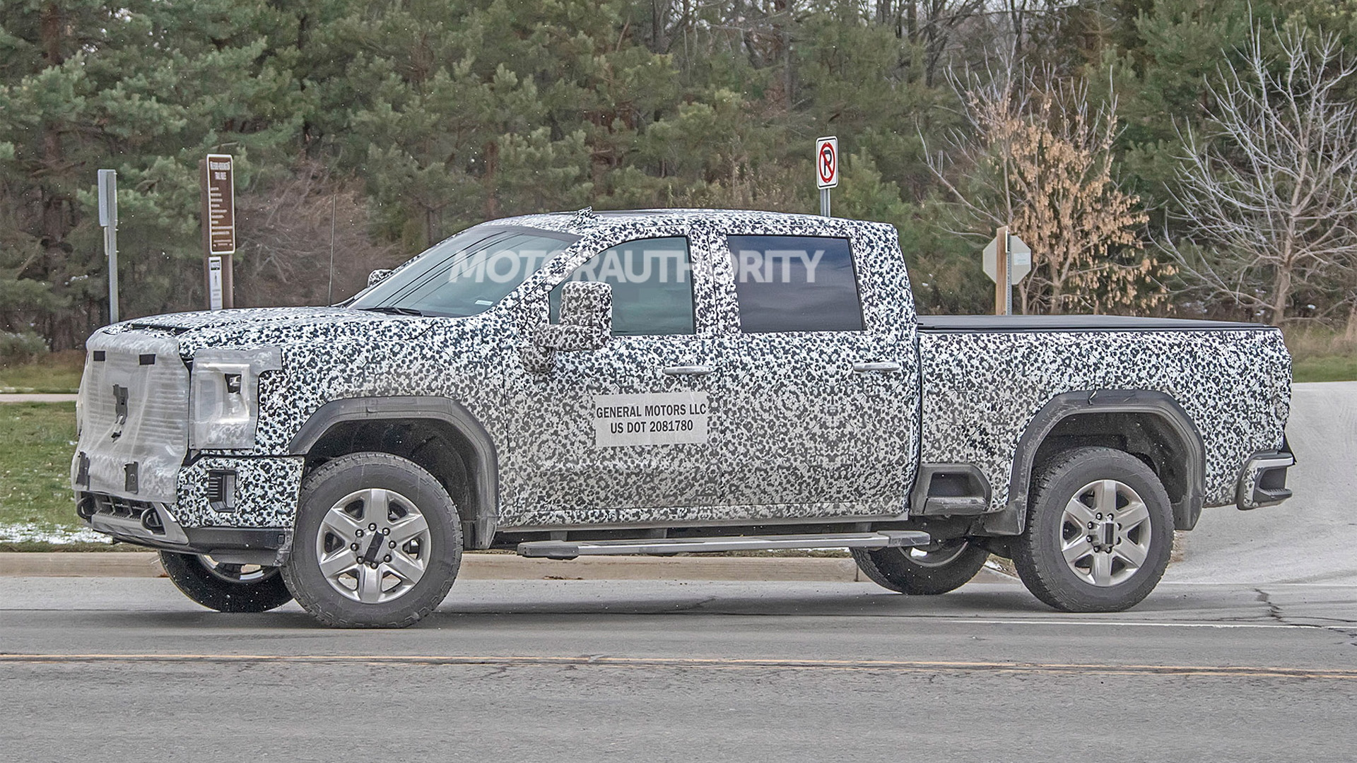 2020 Gmc Sierra 2500 3500 Heavy Duty Spy Shots