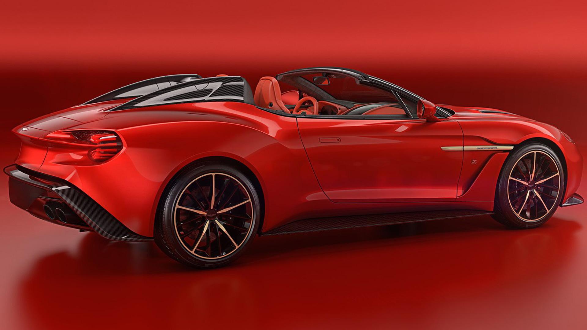 Someone Bought All 4 Aston Martin Vanquish Zagato Body Styles