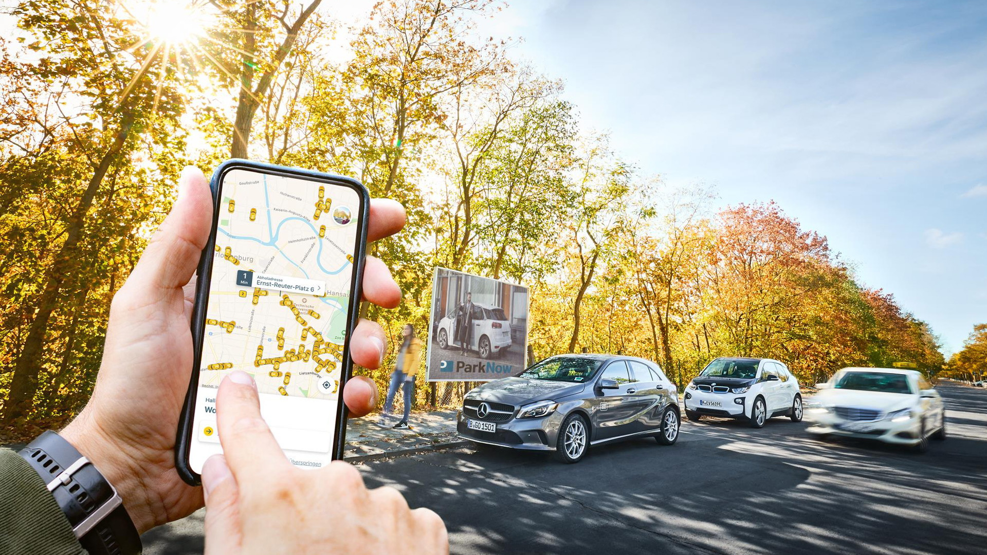 Daimler and BMW Group merge mobility divisions
