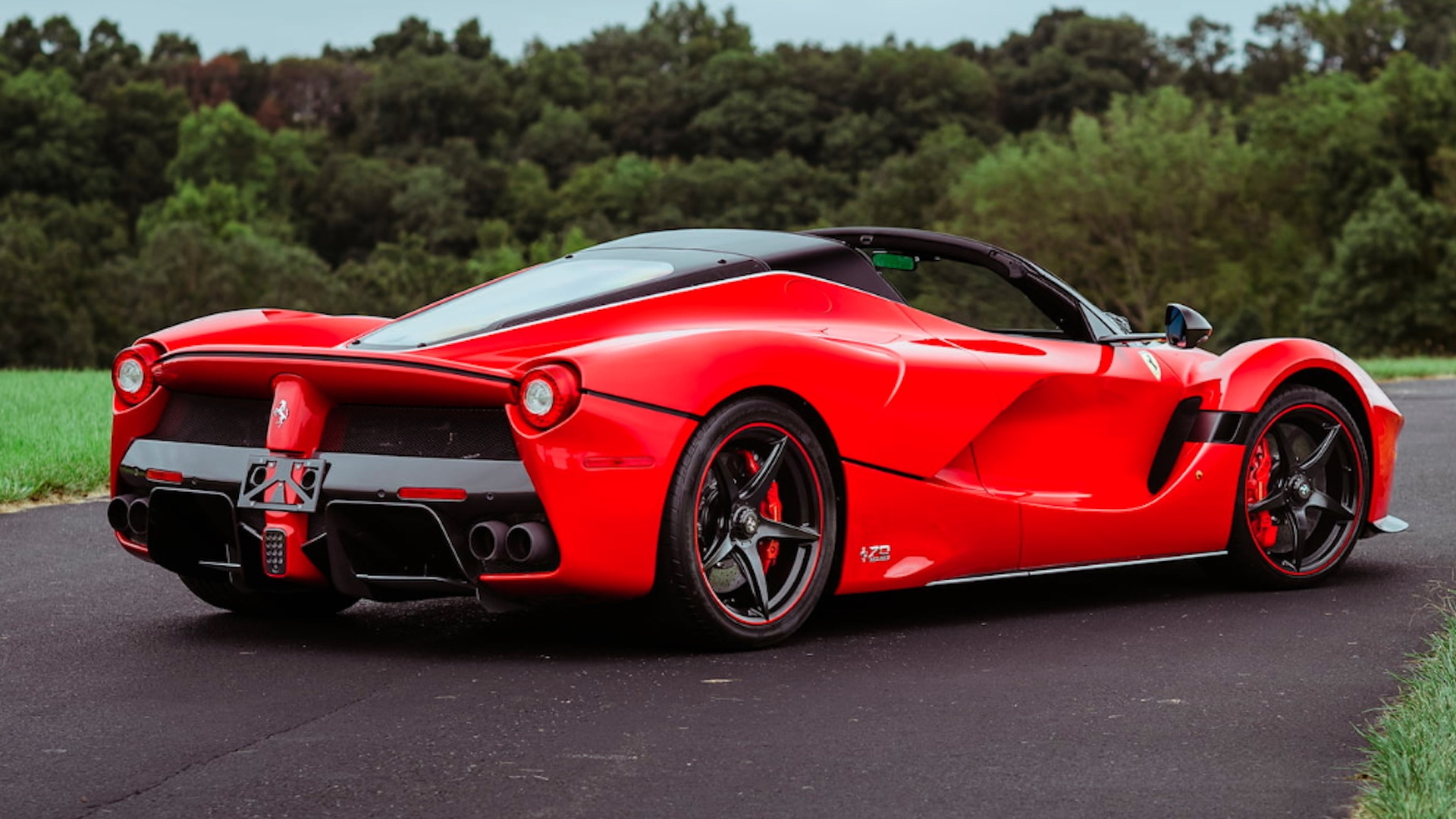 2016 Ferrari Laferrari Aperta For Sale After Failing To Sell