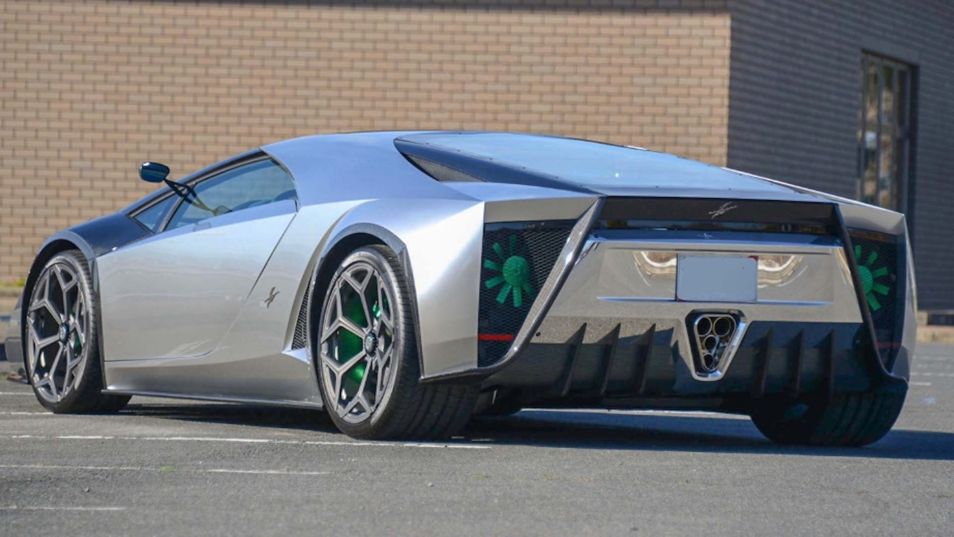 Kode 0 Lamborghini Aventador-based supercar for sale