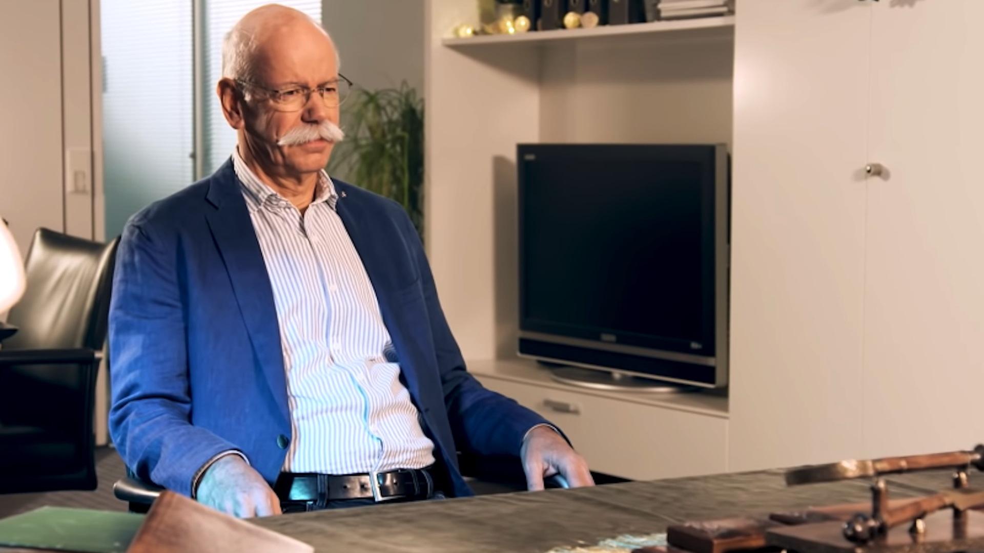 Dieter Zetsche, Daimler CEO farewell message 2018