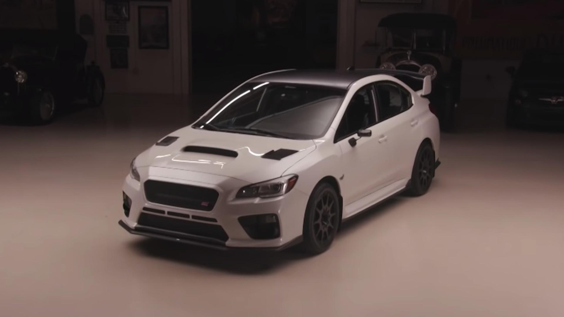 Buck Lasek's 2016 Subaru WRX STI on Jay Leno's Garage