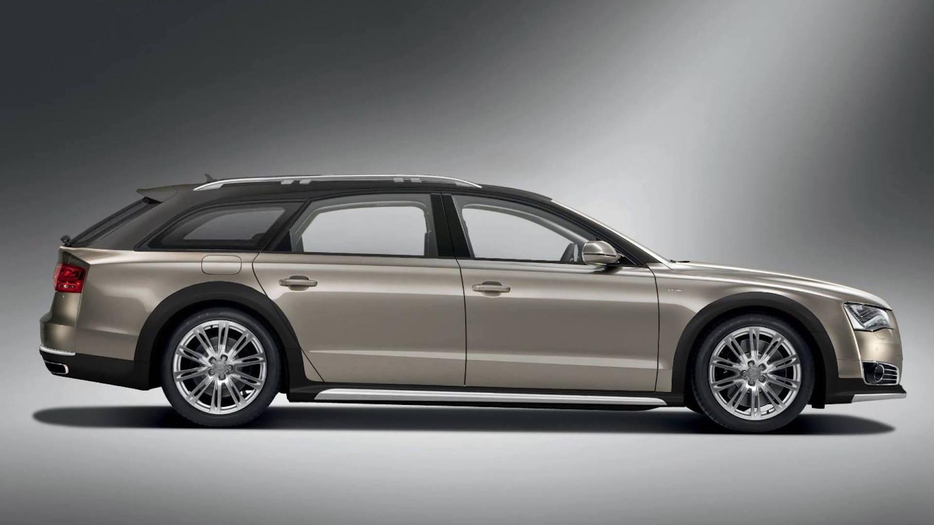 Audi A8 Avant wagon by Castagna