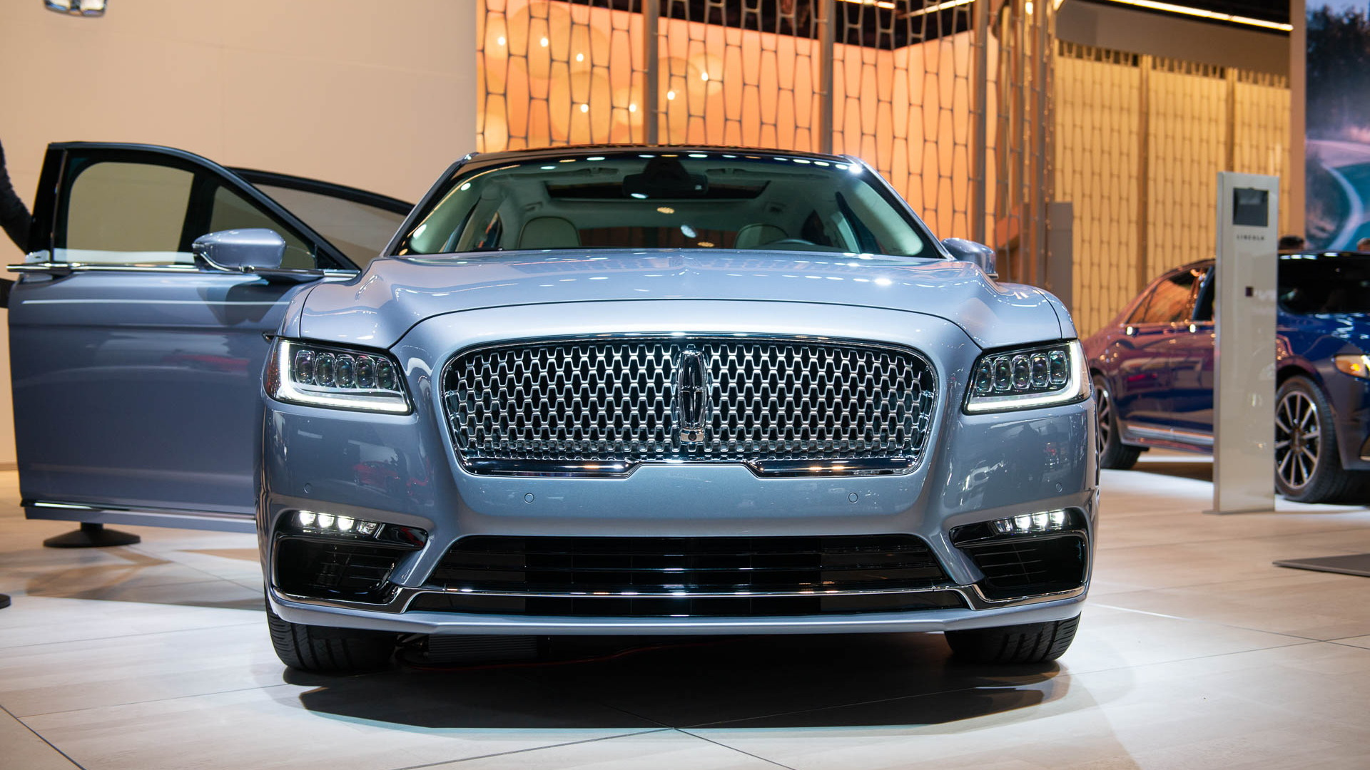 2019 Lincoln Continental Coach Edition, 2019 Detroit auto show
