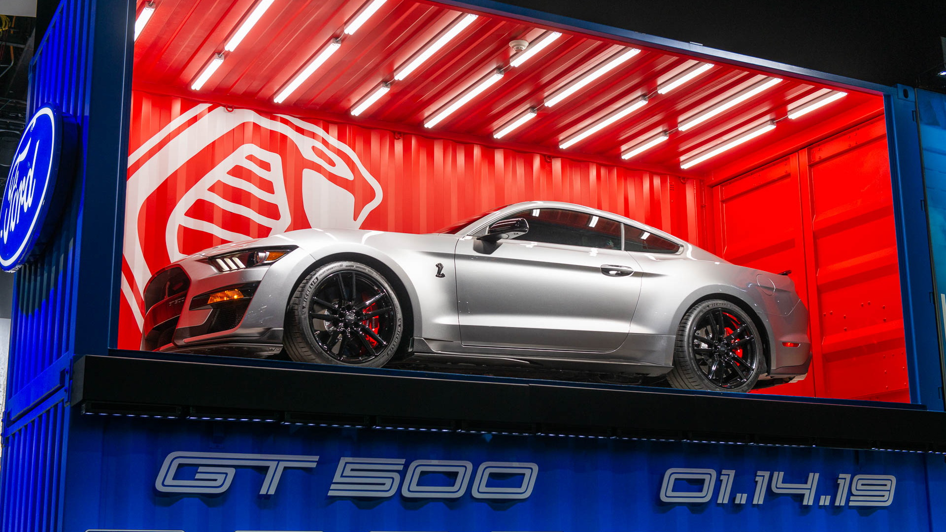 2020 Ford Mustang Shelby GT500, 2019 Detroit auto show