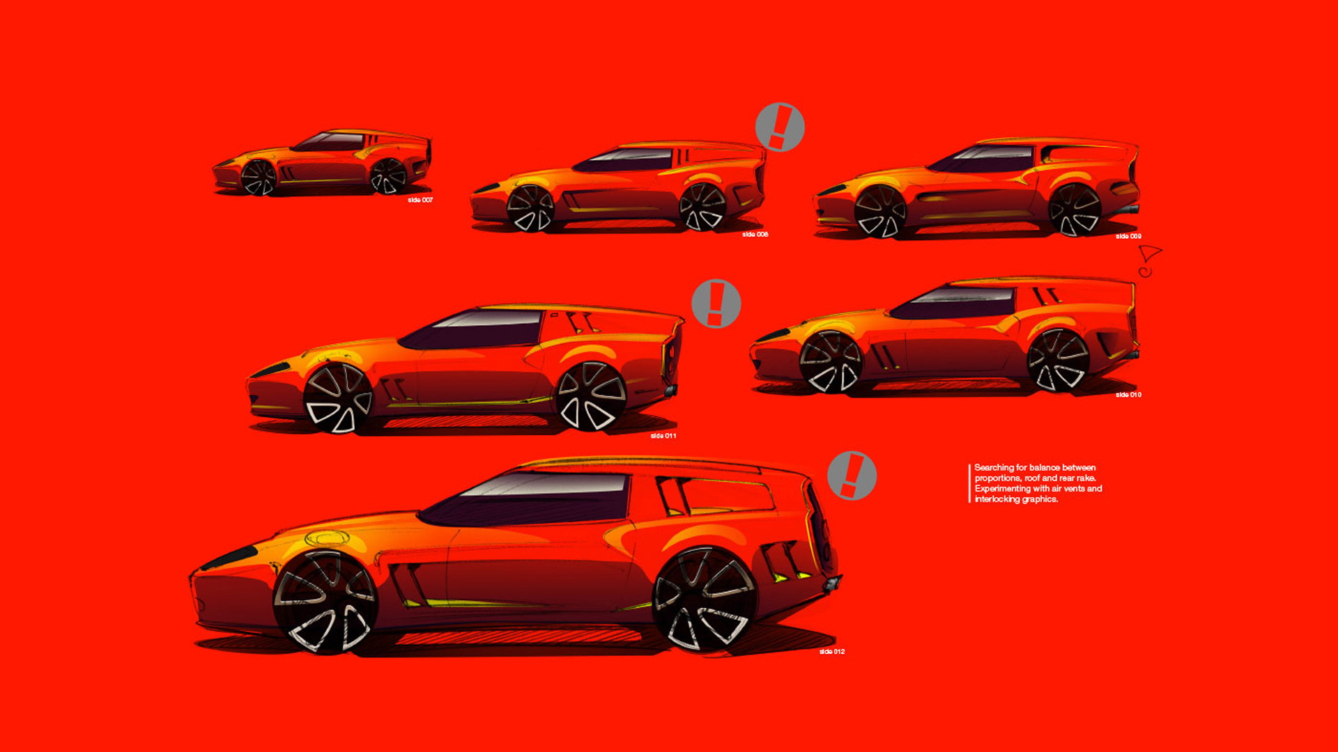 Niels van Roij Design Ferrari 550 Maranello-based Breadvan homage model