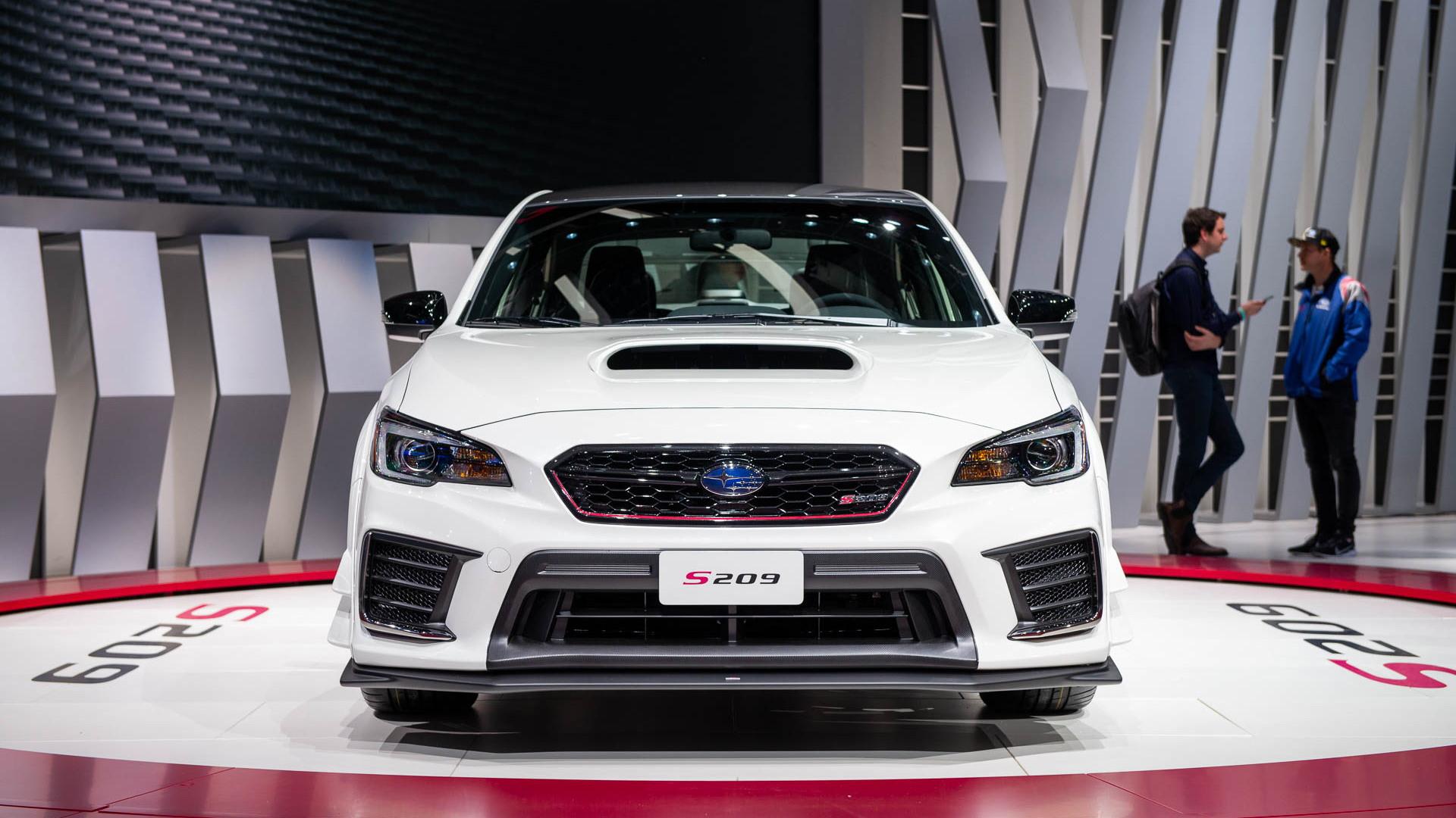 2019 Subaru WRX STI S209, 2019 Detroit auto show