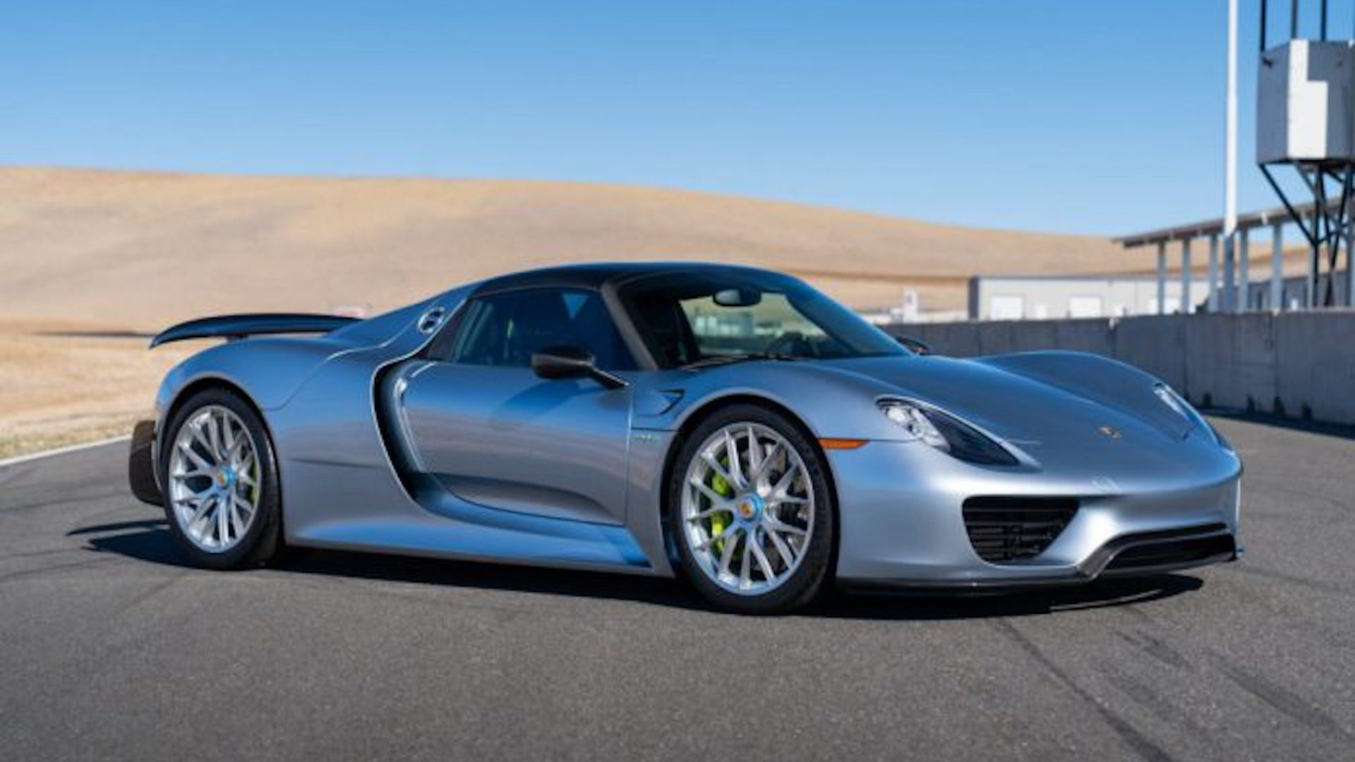 2015 Porsche 918 Spyder with Weissach Package, via Gooding & Company