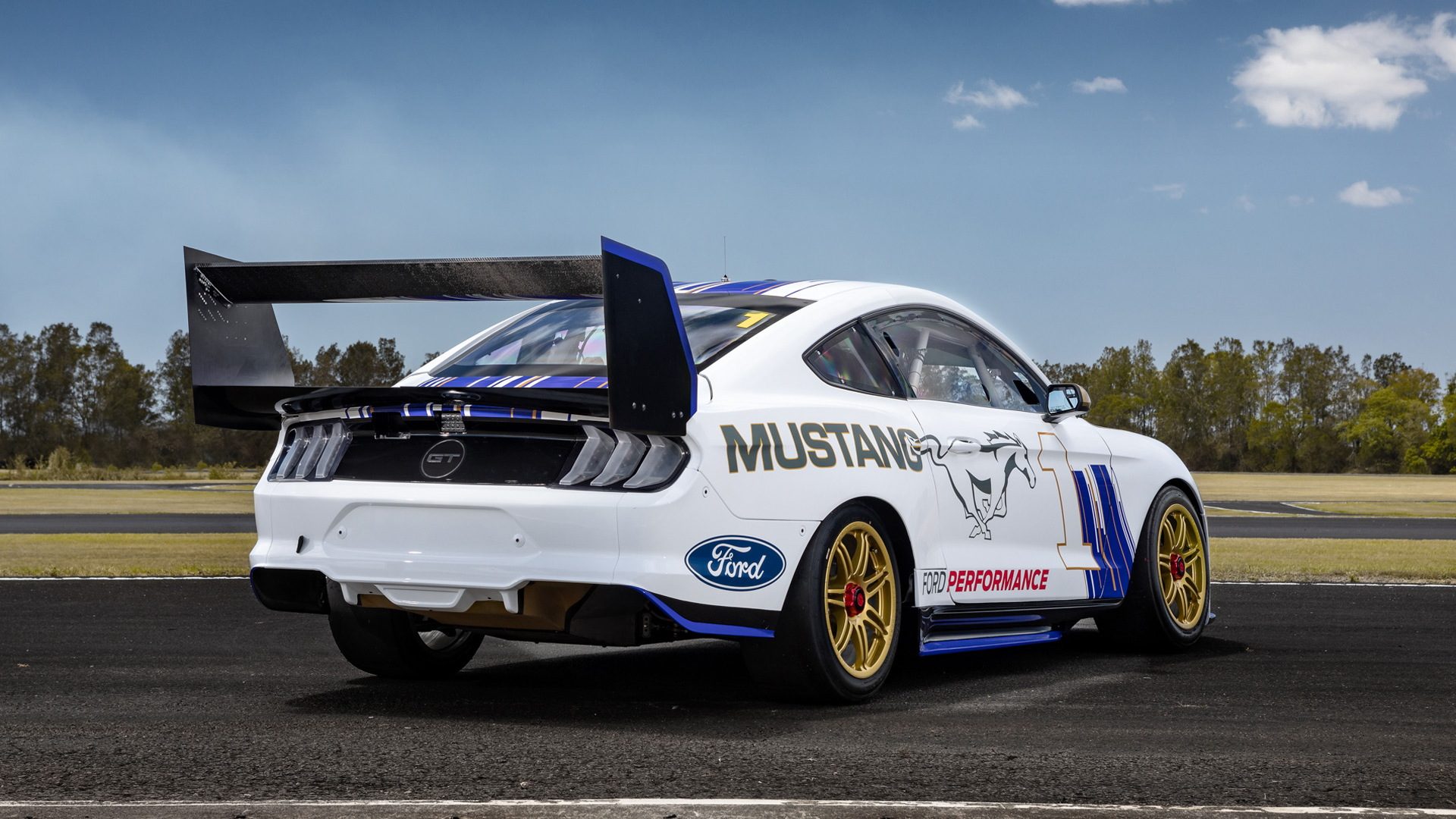 2019 Ford Mustang Australia Supercars race car