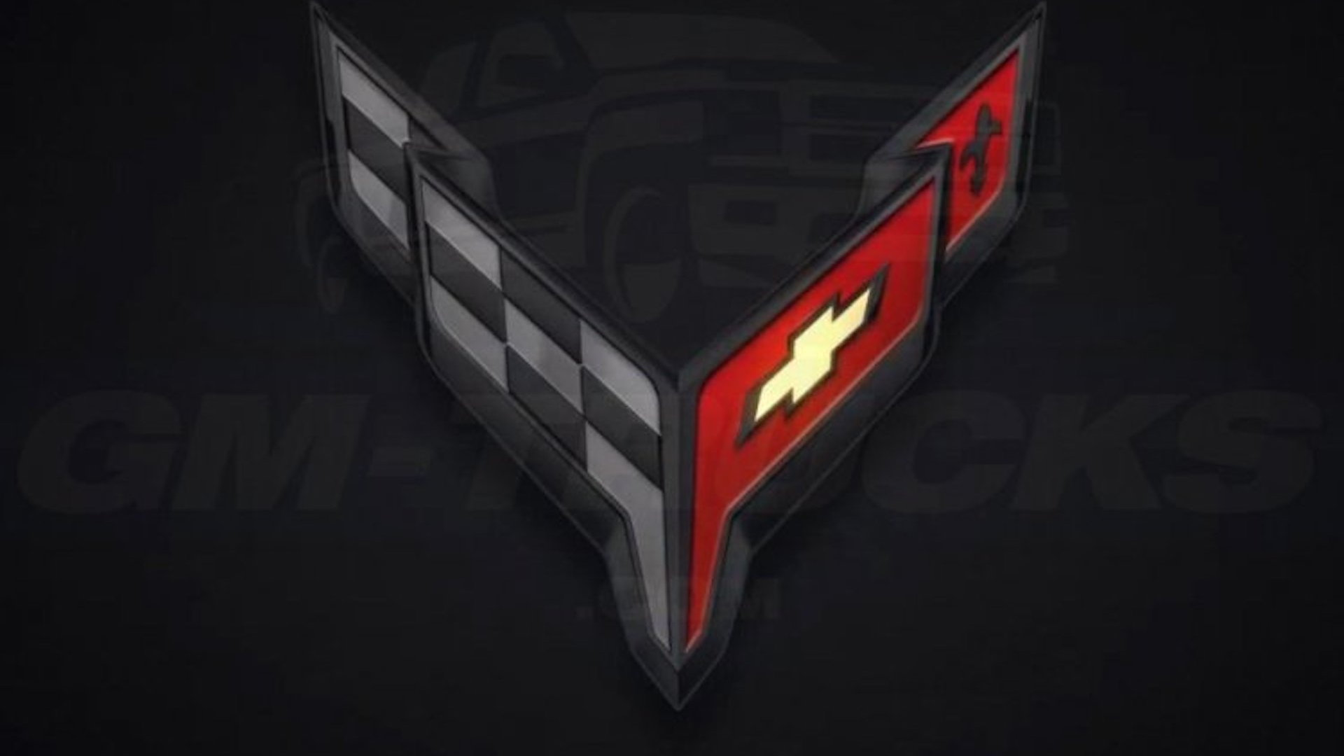 2020 Chevrolet C8 Corvette logos via GM-Trucks.com