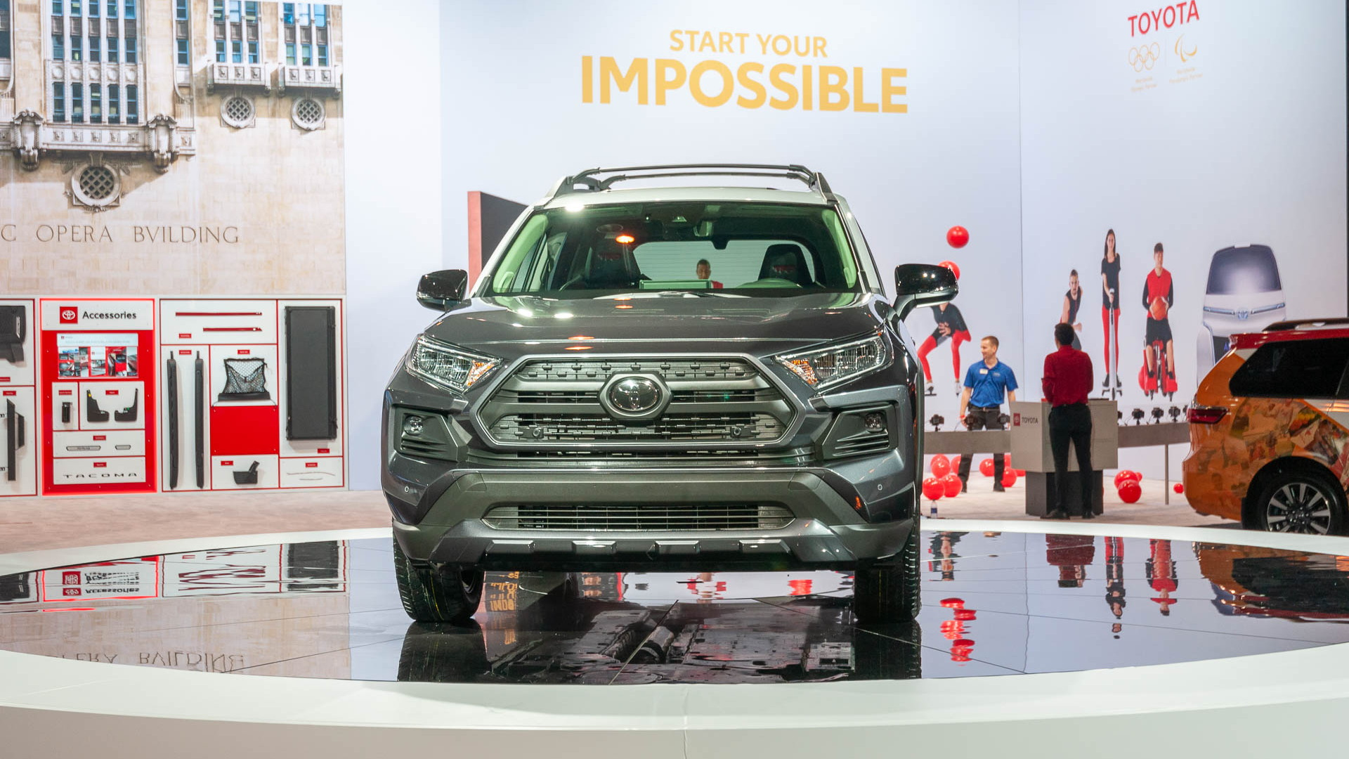 2020 Toytota RAV4 TRD Off-Road, 2019 Chicago Auto Show