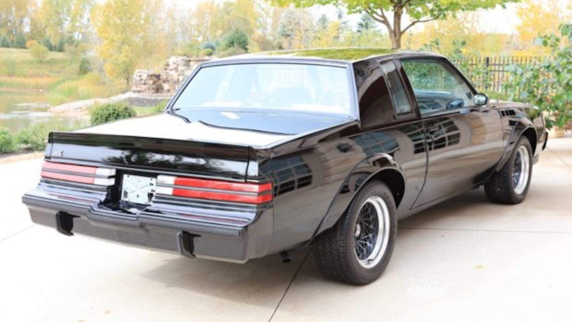 1987 Buick GNX with 8 miles for sale