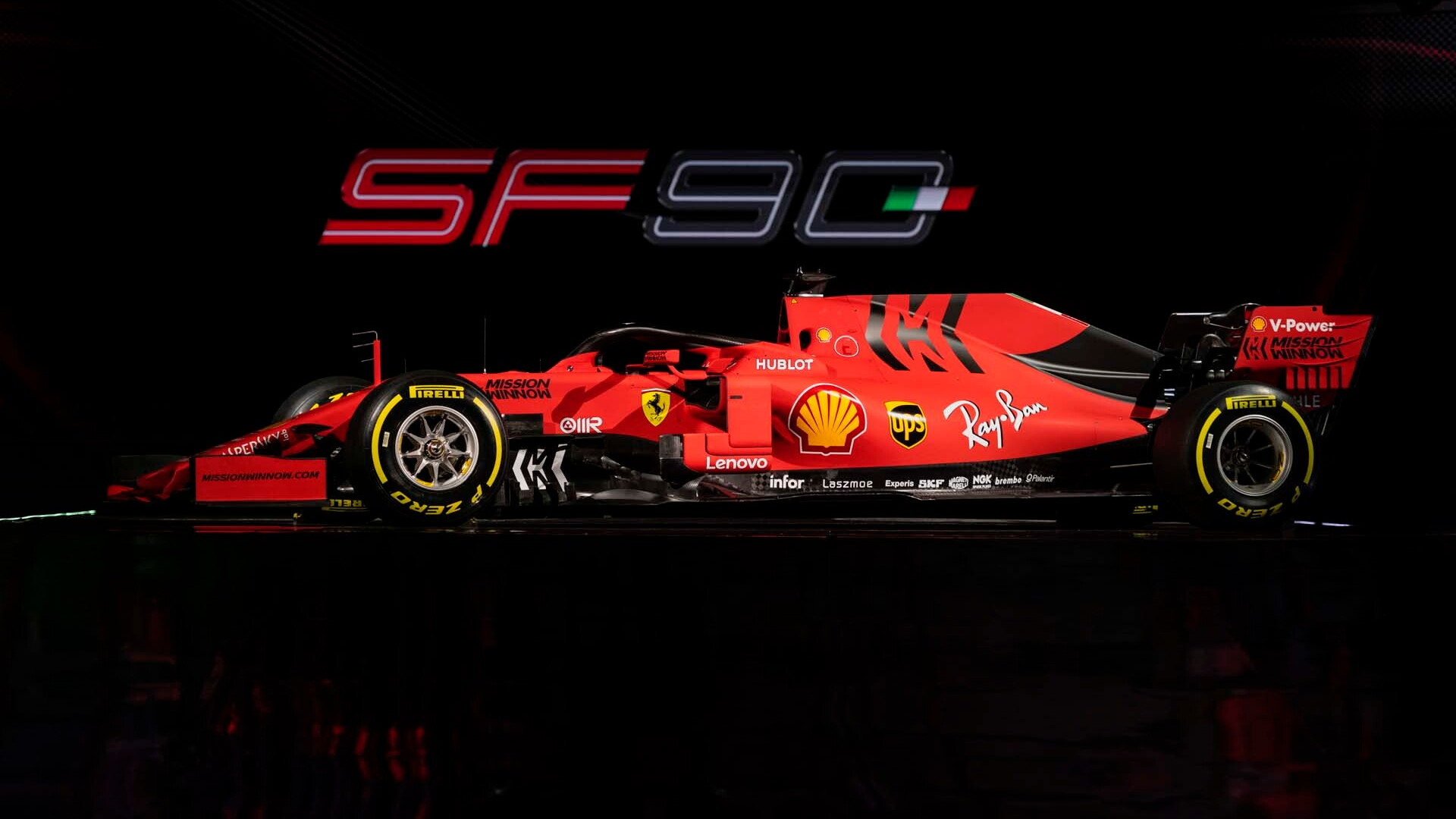 Ferrari SF90 F1 race car