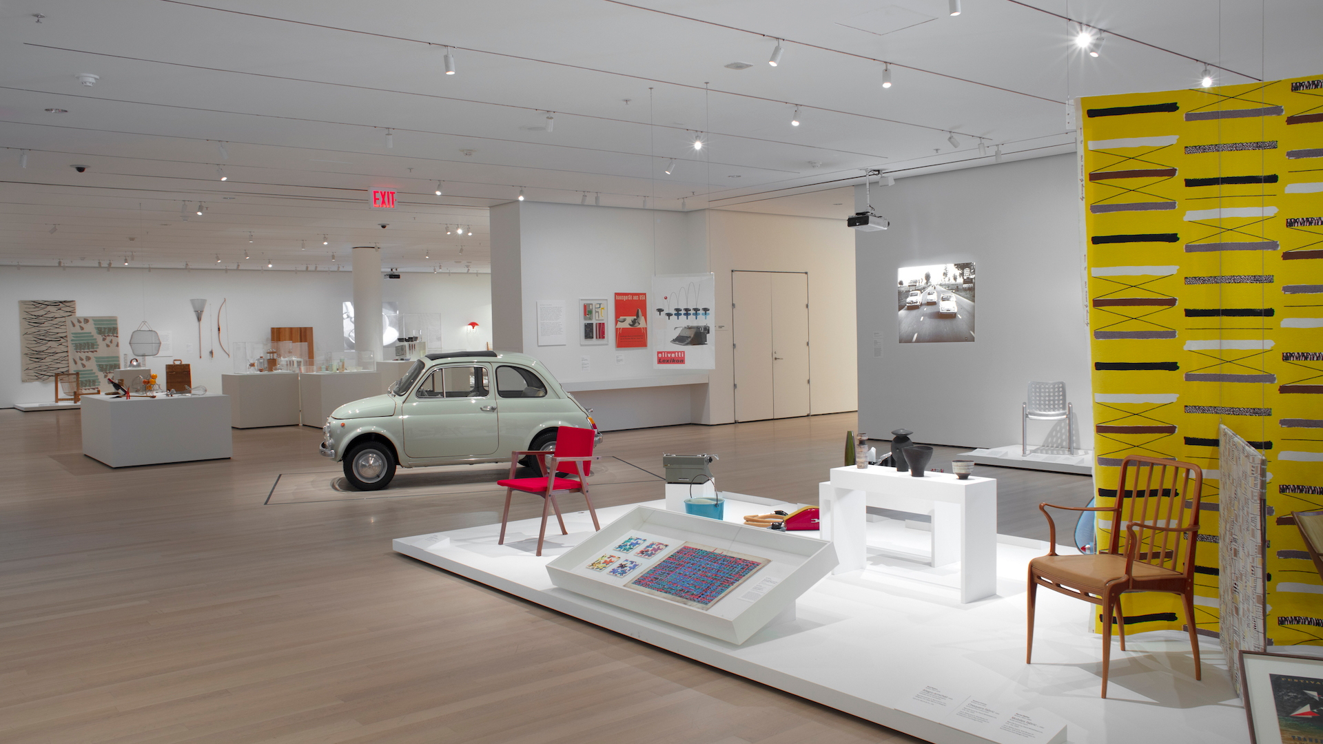 1965 Fiat 500 at New York Museum of Modern Art