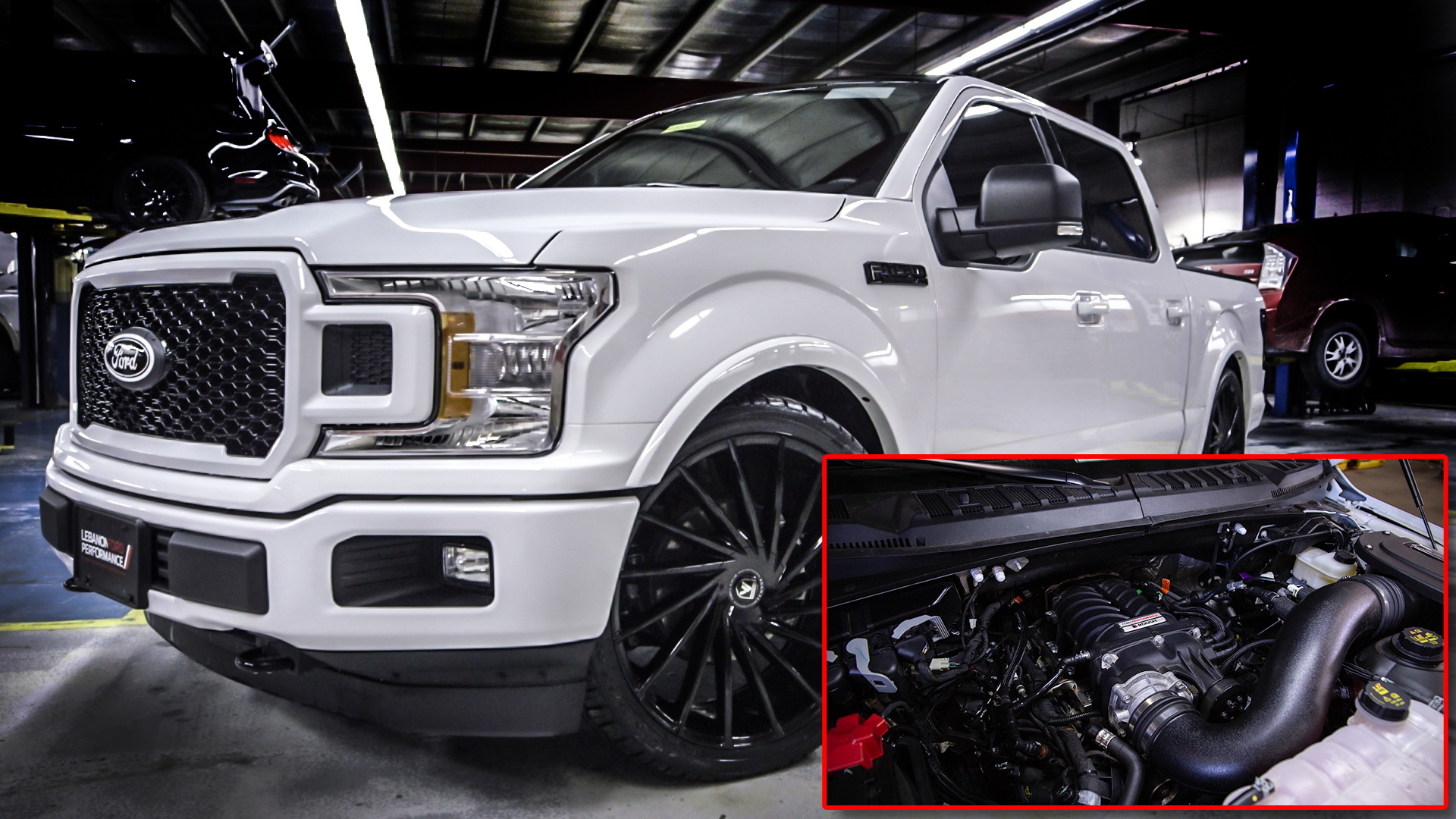 Lebanon Ford Performance F-150 with 725 hp