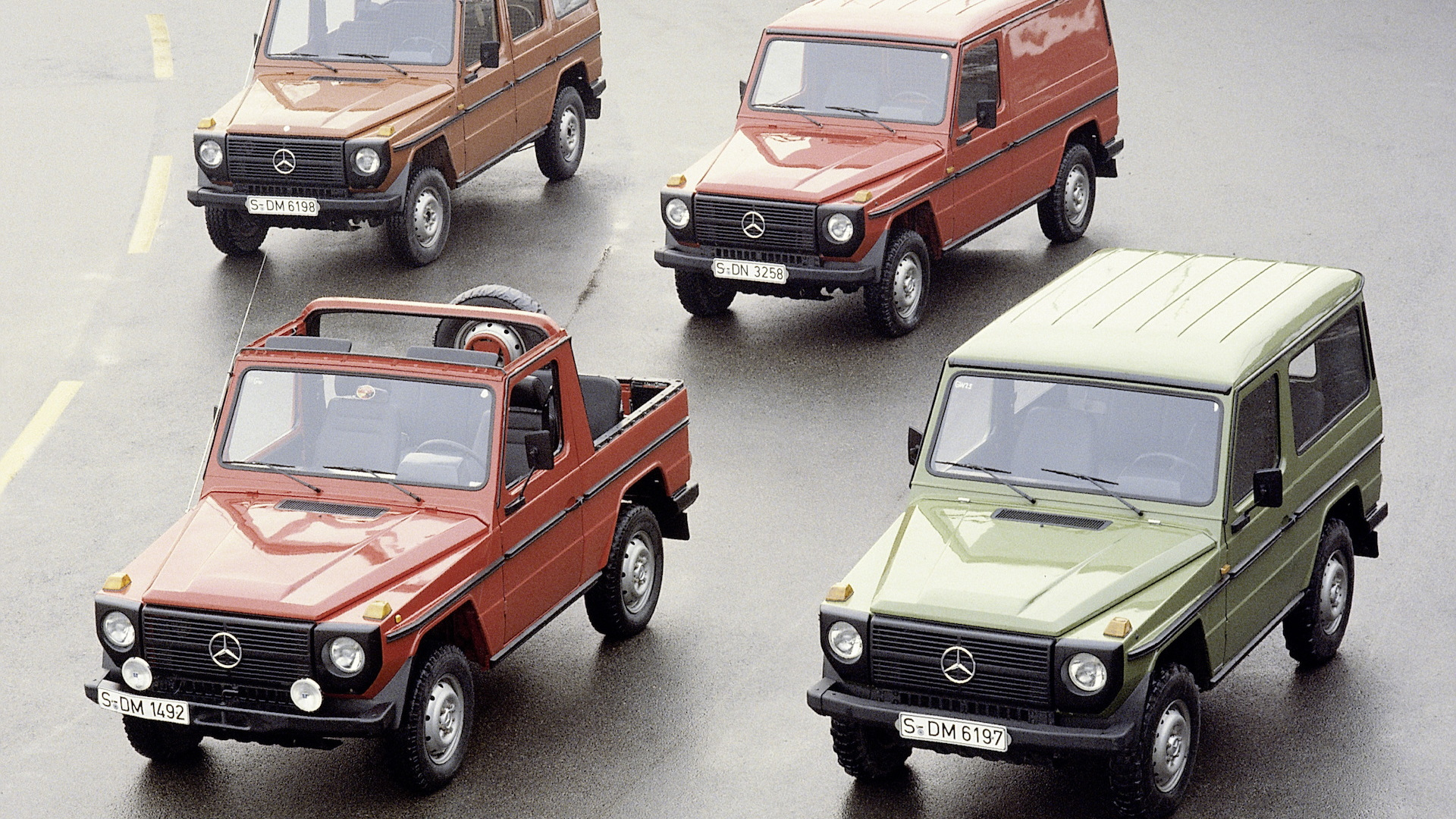 1979 Mercedes Benz G Cl Lineup
