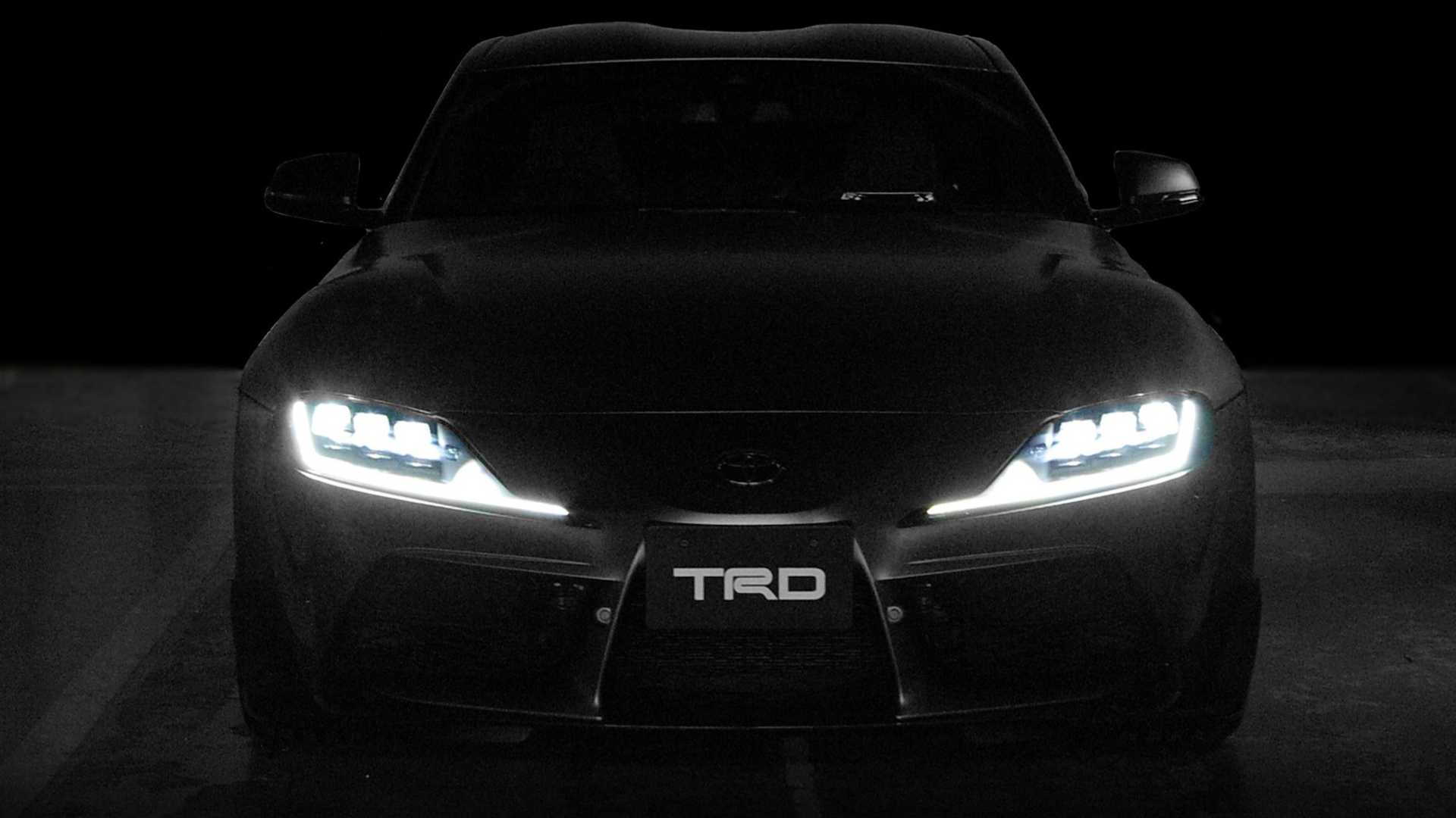 2020 Toyota Supra TRD concept