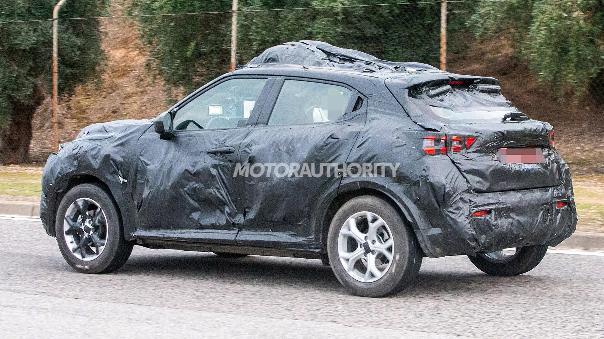 2020 Nissan Juke Spy Shots