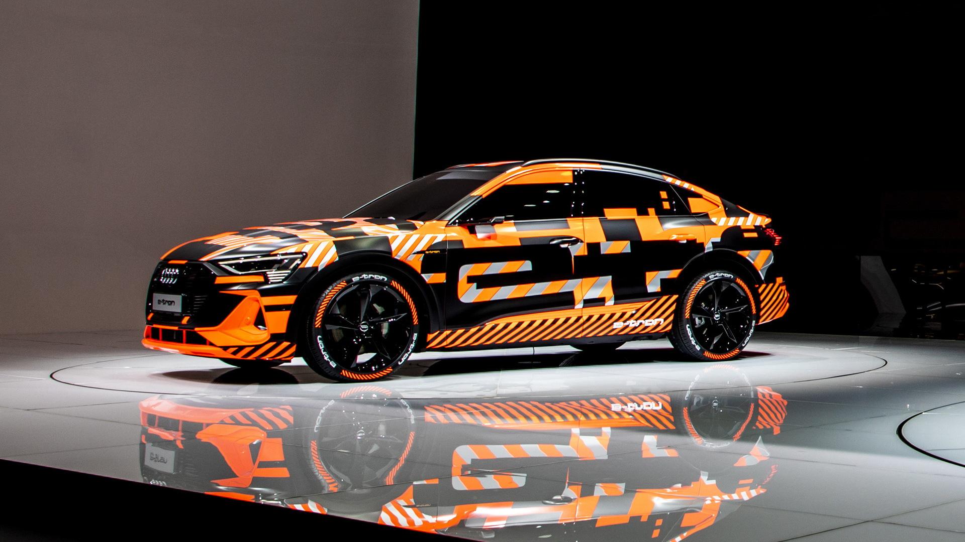 2020 Audi e-tron Sportback prototype