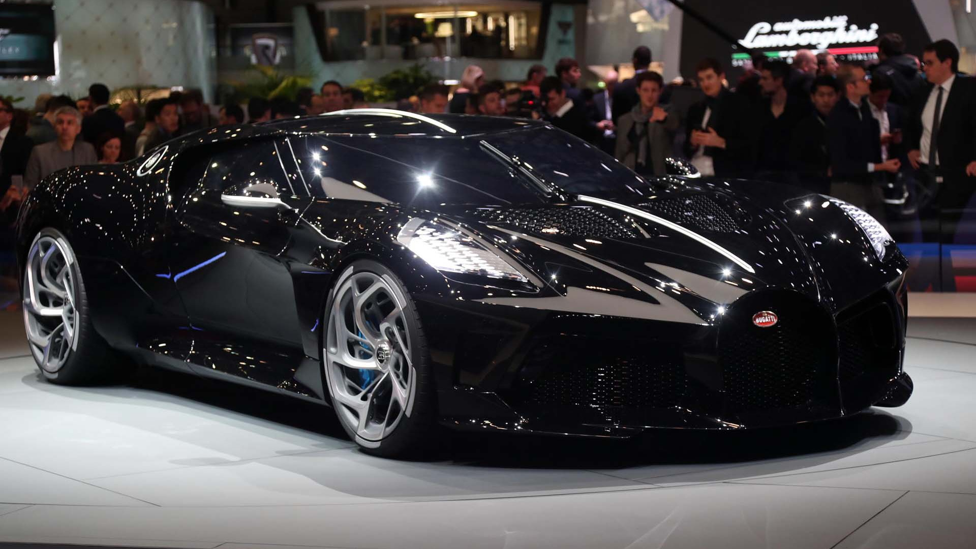 Bugatti La Voiture Noire A 124 Million Celebration Of The