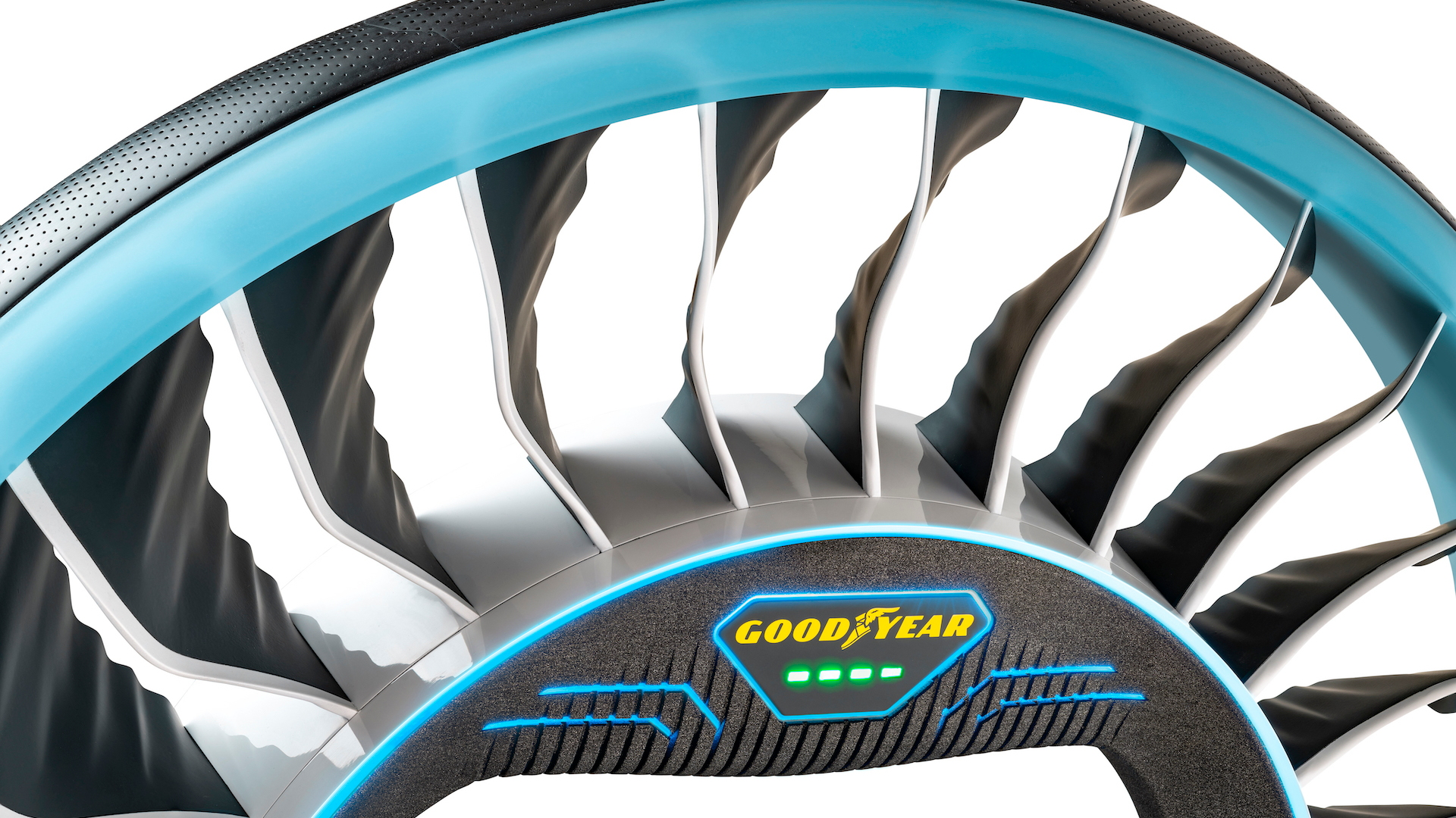 Goodyear has designed a tire that could help cars fly