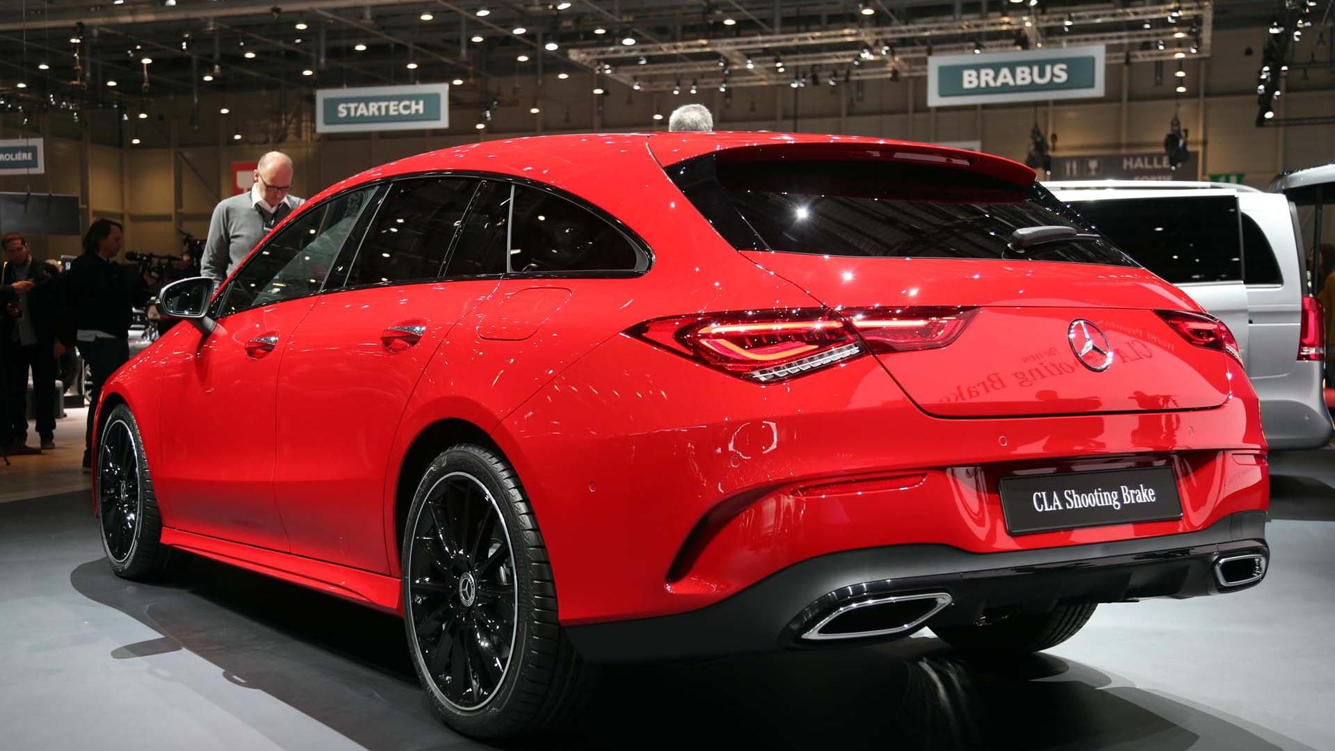 Mercedes-Benz CLA Shooting Brake, 2019 Geneva International Motor Show